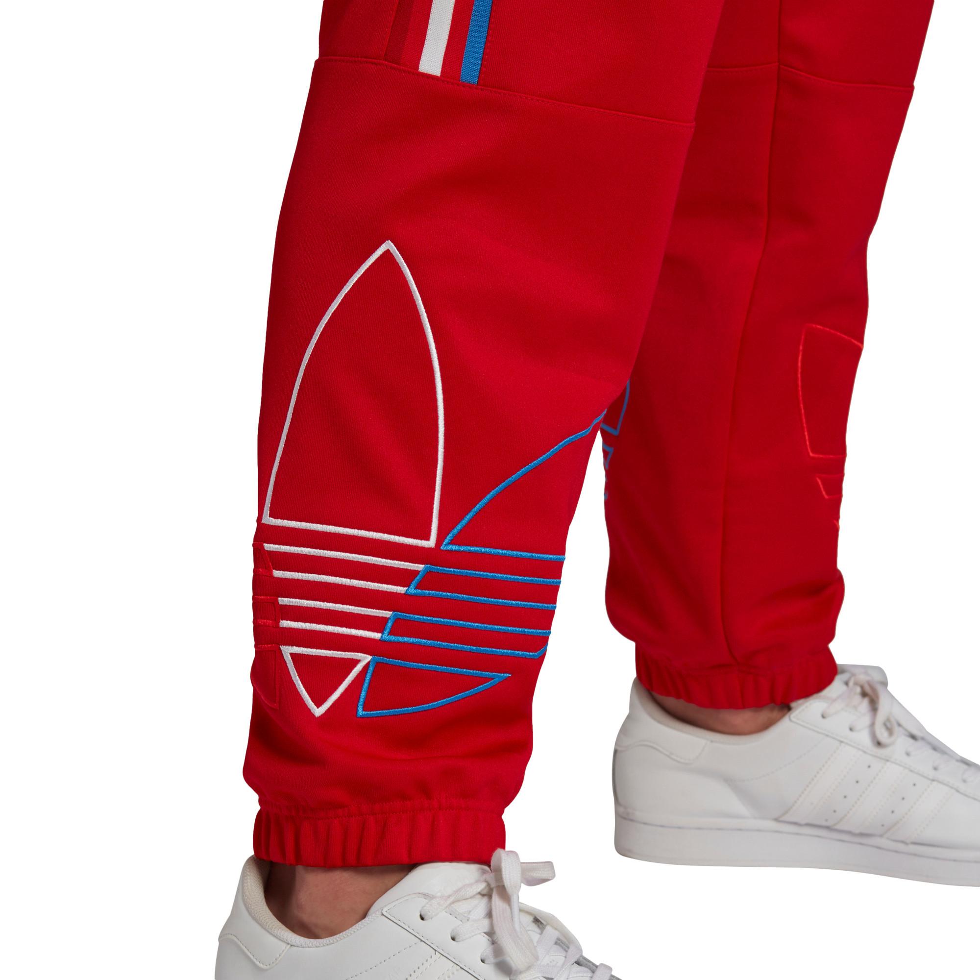 Pantaloni tuta adicolor, Rosso, large image number 3
