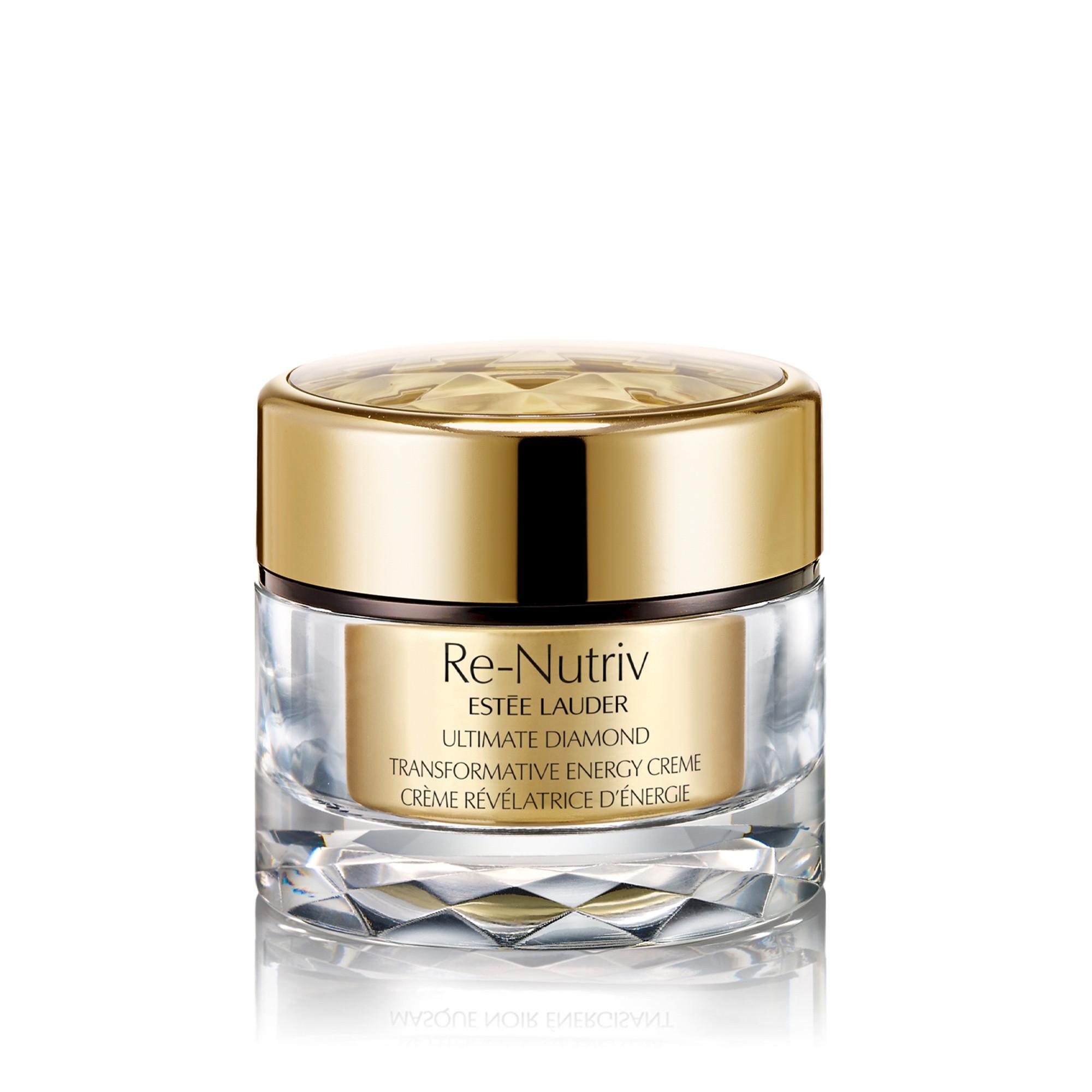 Estée Lauder re-nutriv ultimate diamond transformative energy creme rich 50 ml, Giallo oro, large image number 0