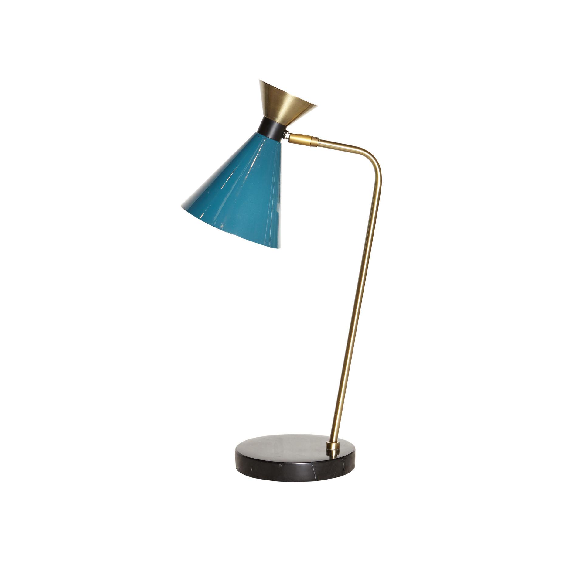 Lampada da tavolo Vintage, Petrolio, large image number 1