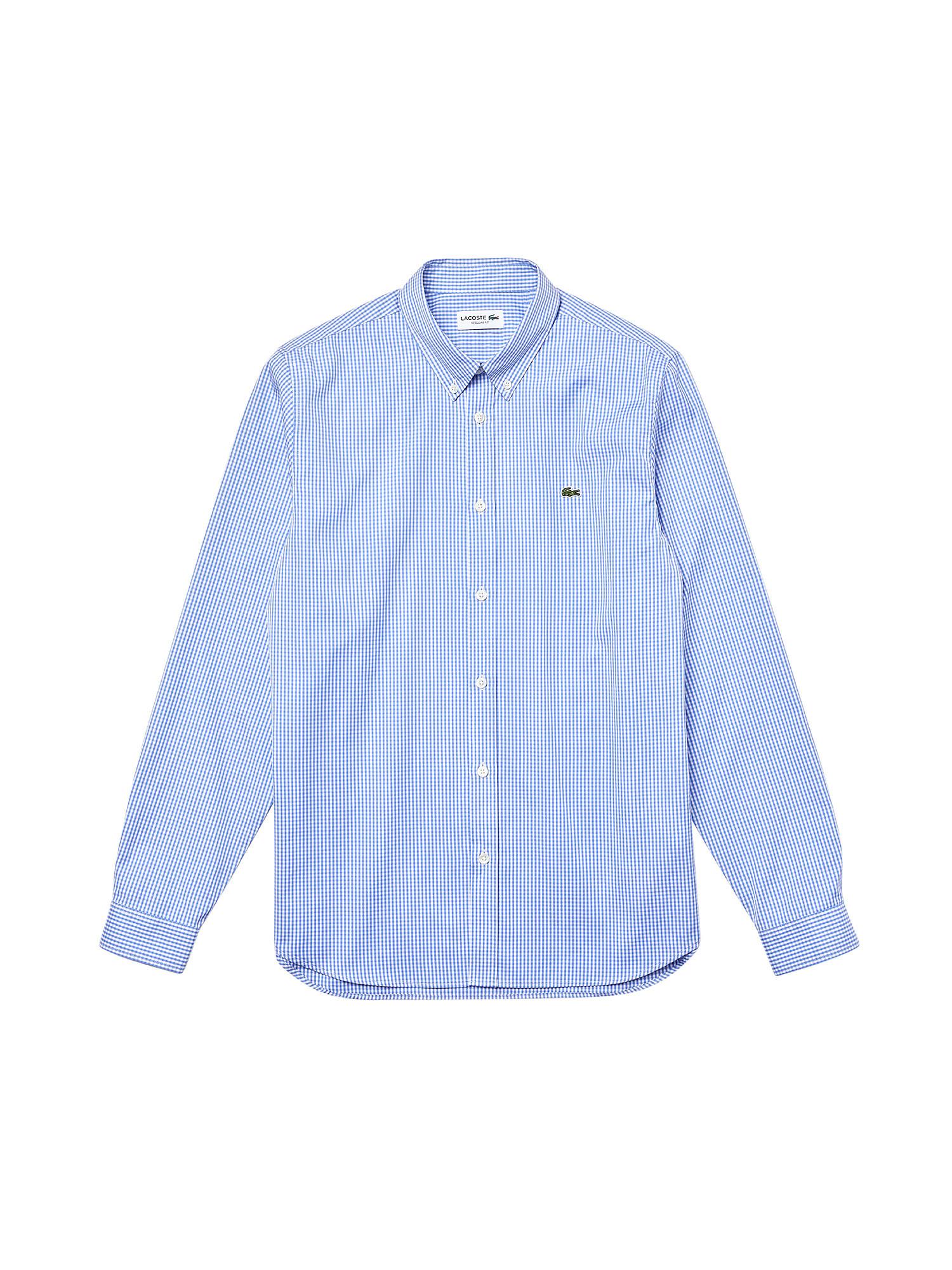 Camicia uomo in cotone, Azzurro, large image number 0