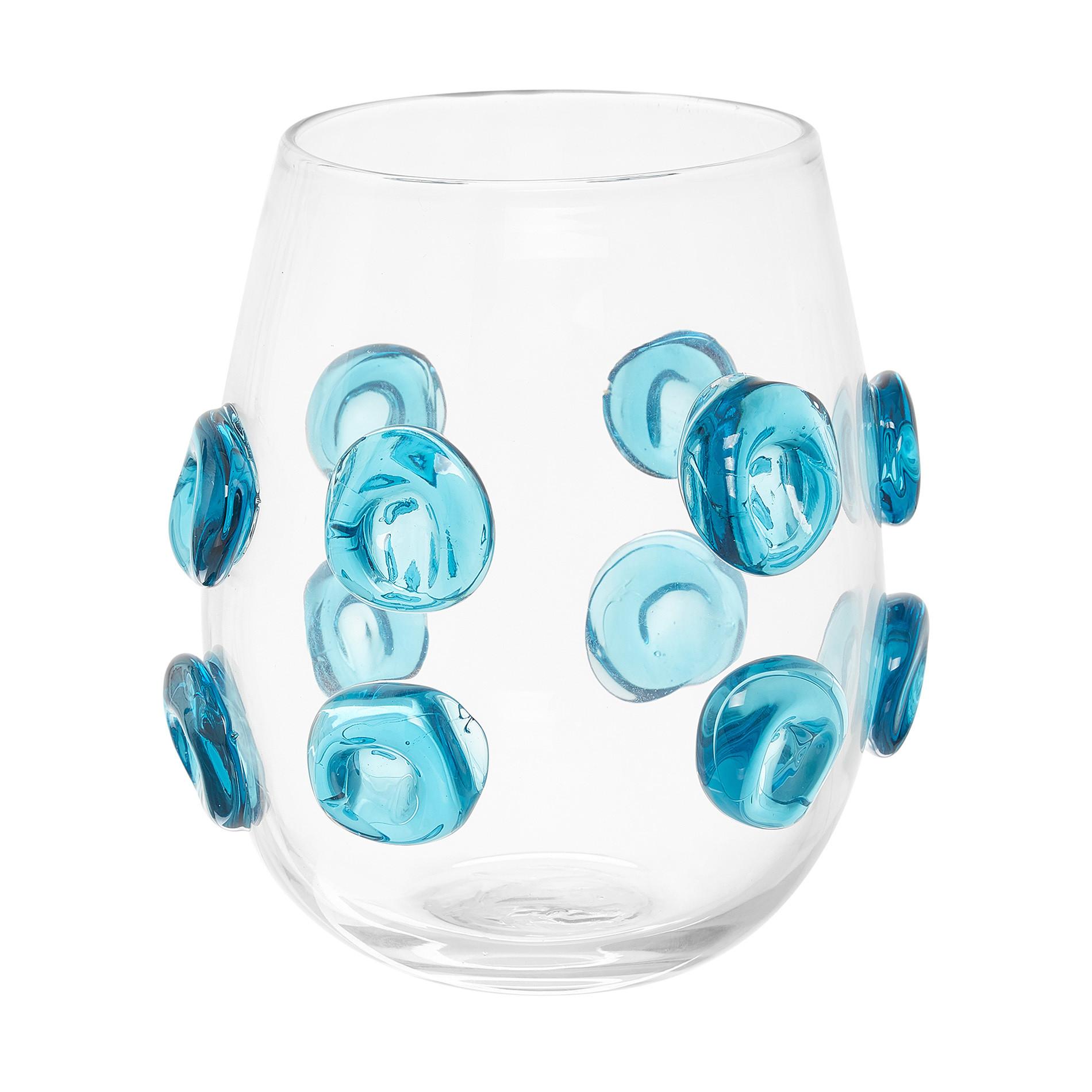 Vaso vetro colorato in pasta, Trasparente, large image number 0