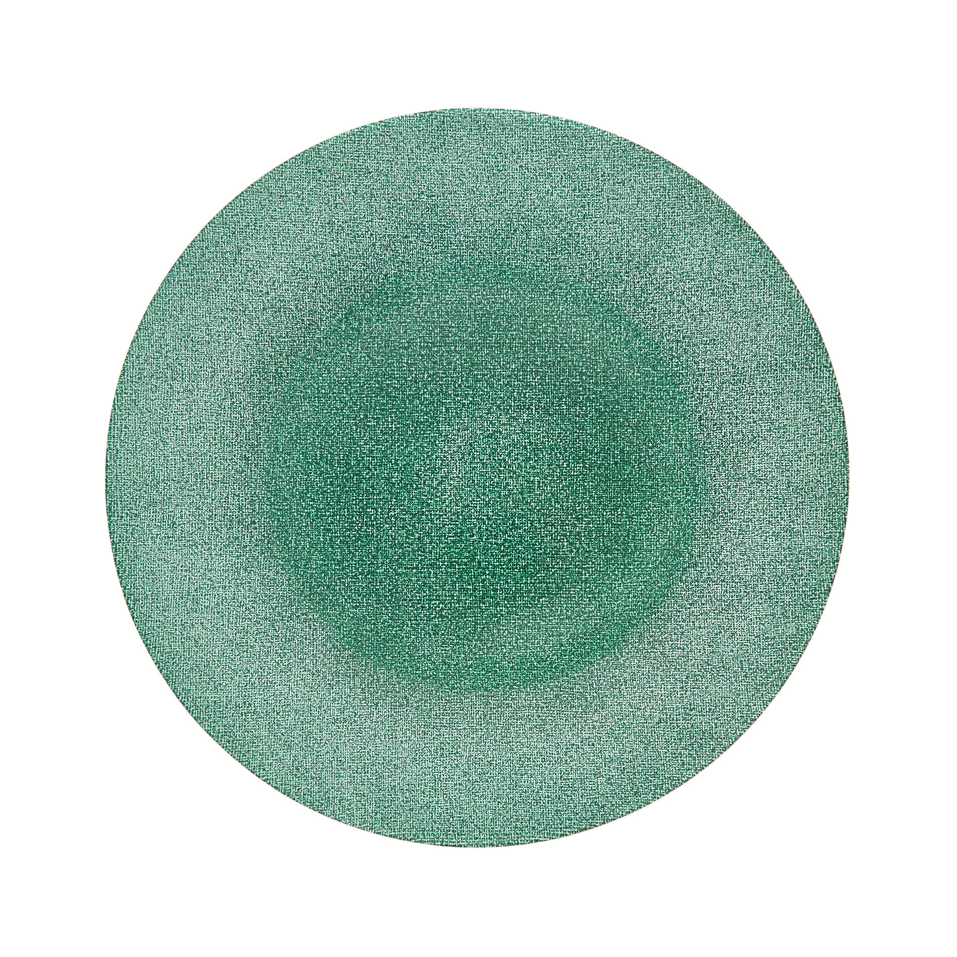 Piatto da portata vetro glitter, Bianco, large image number 0