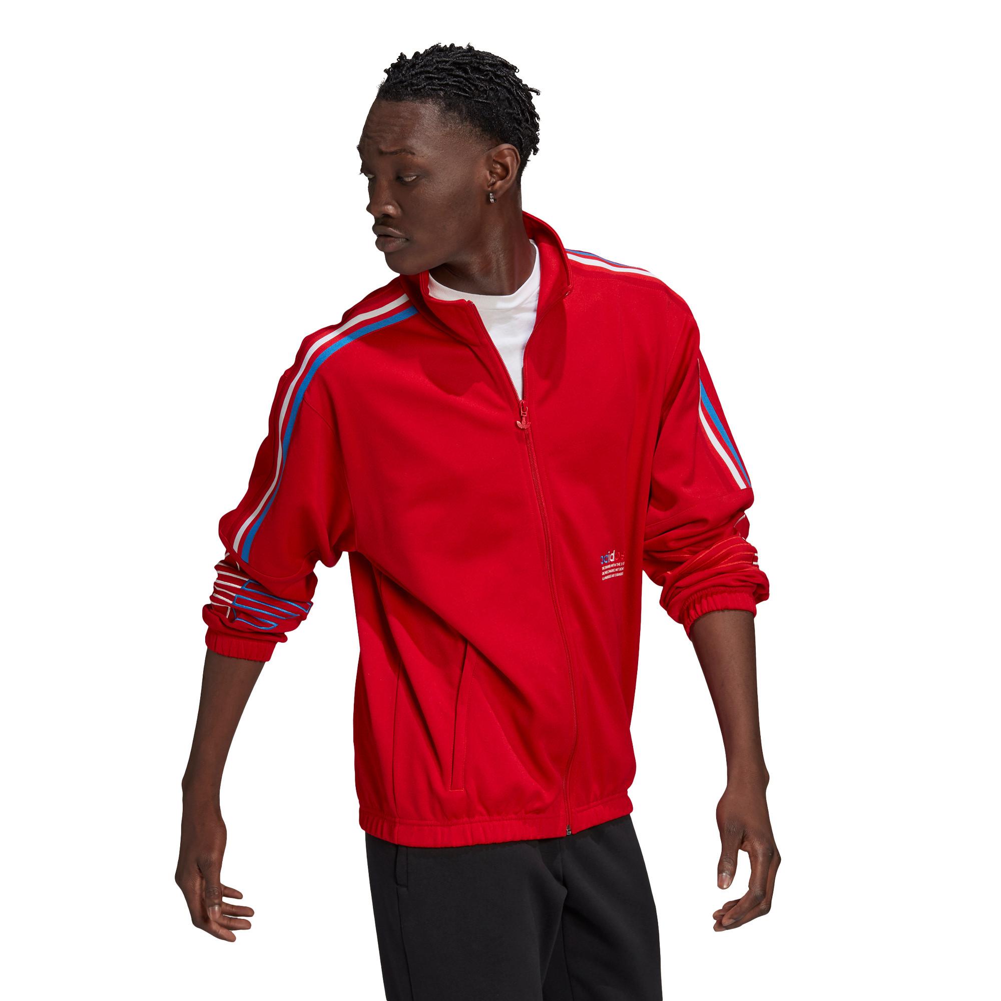 Giacca tuta adicolor FTO Track Jacket, Rosso, large image number 3