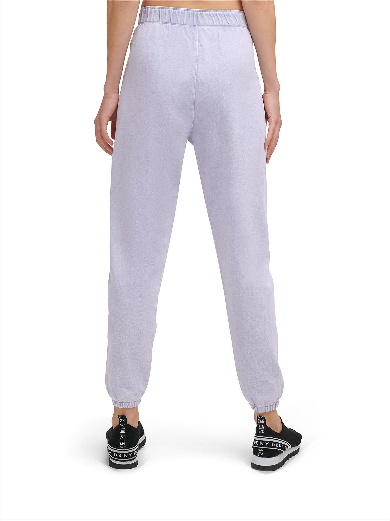 Pantaloni boyfriend acid wash, Azzurro, large image number 4
