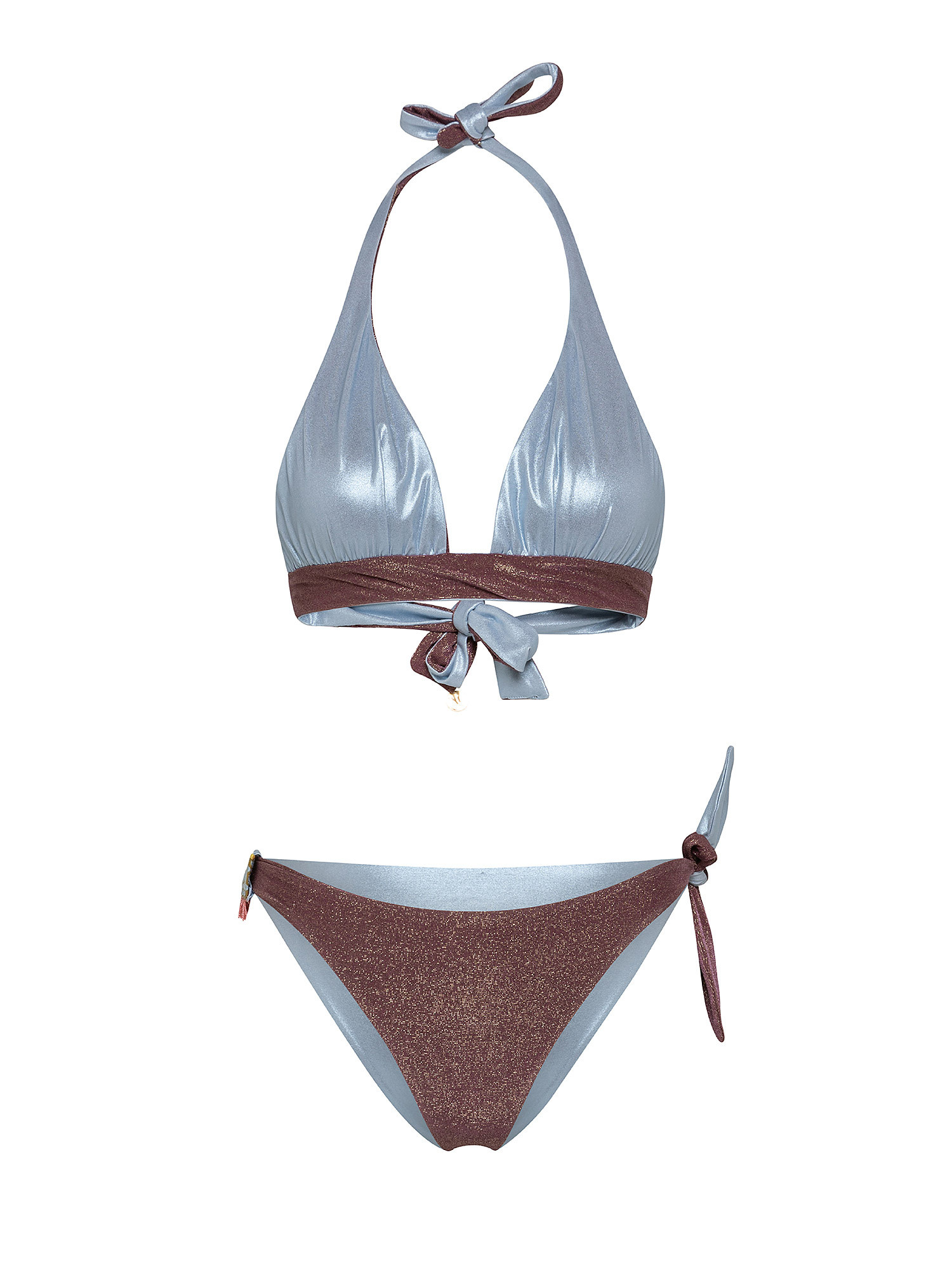 Bikini triangolo, Marrone bronzo, large image number 1