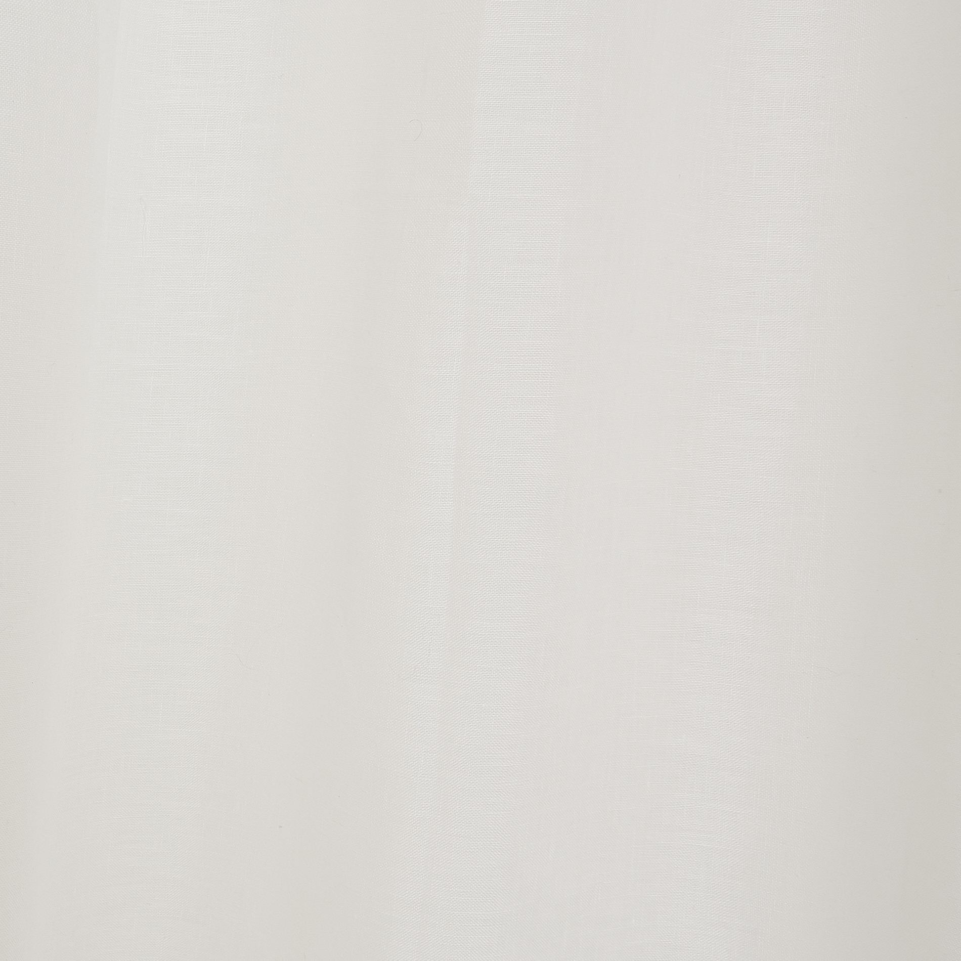 Tenda puro lino tinta unita, Bianco, large image number 3