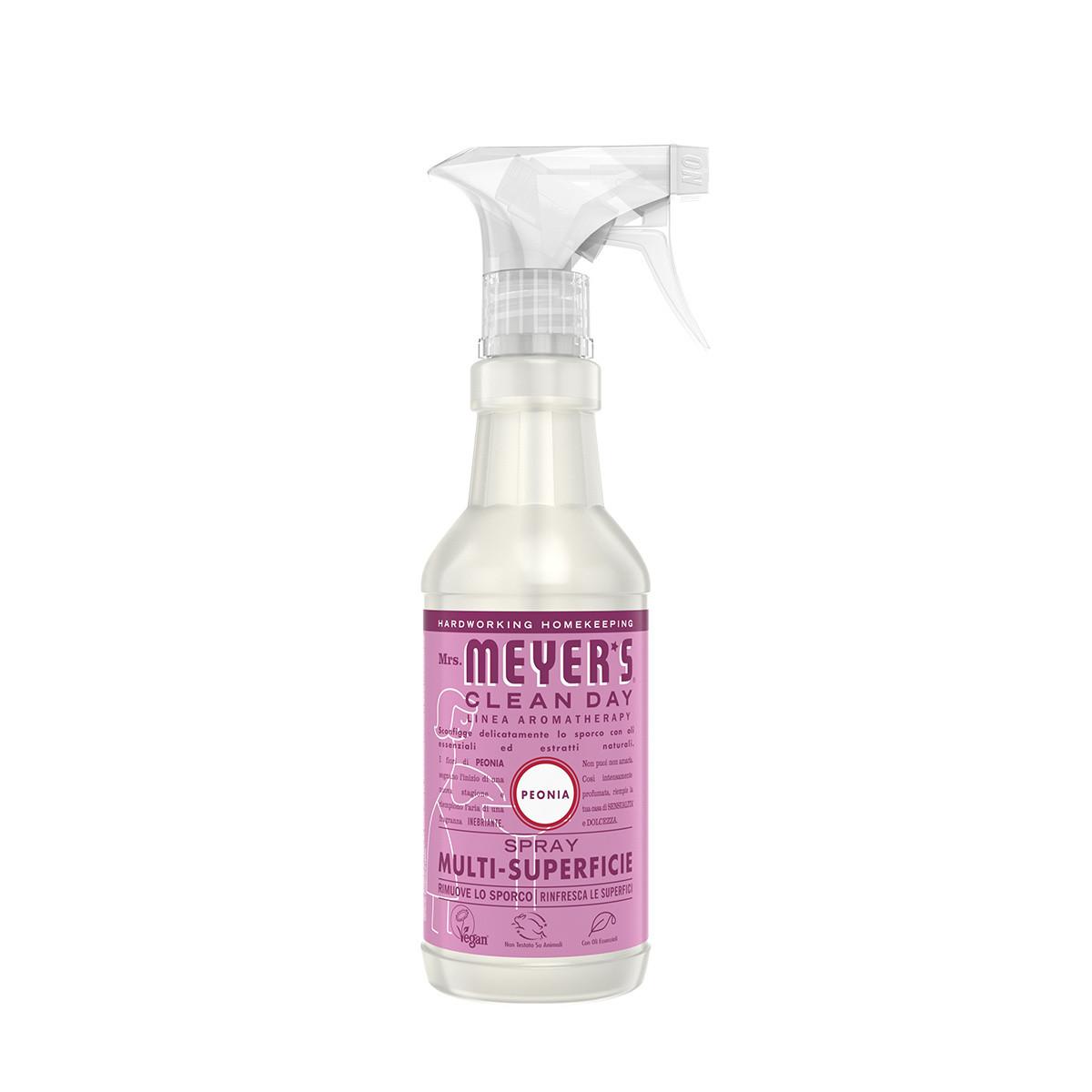 Spray detergente multi-superficie profumo di peonia 473ml, Rosa, large image number 0