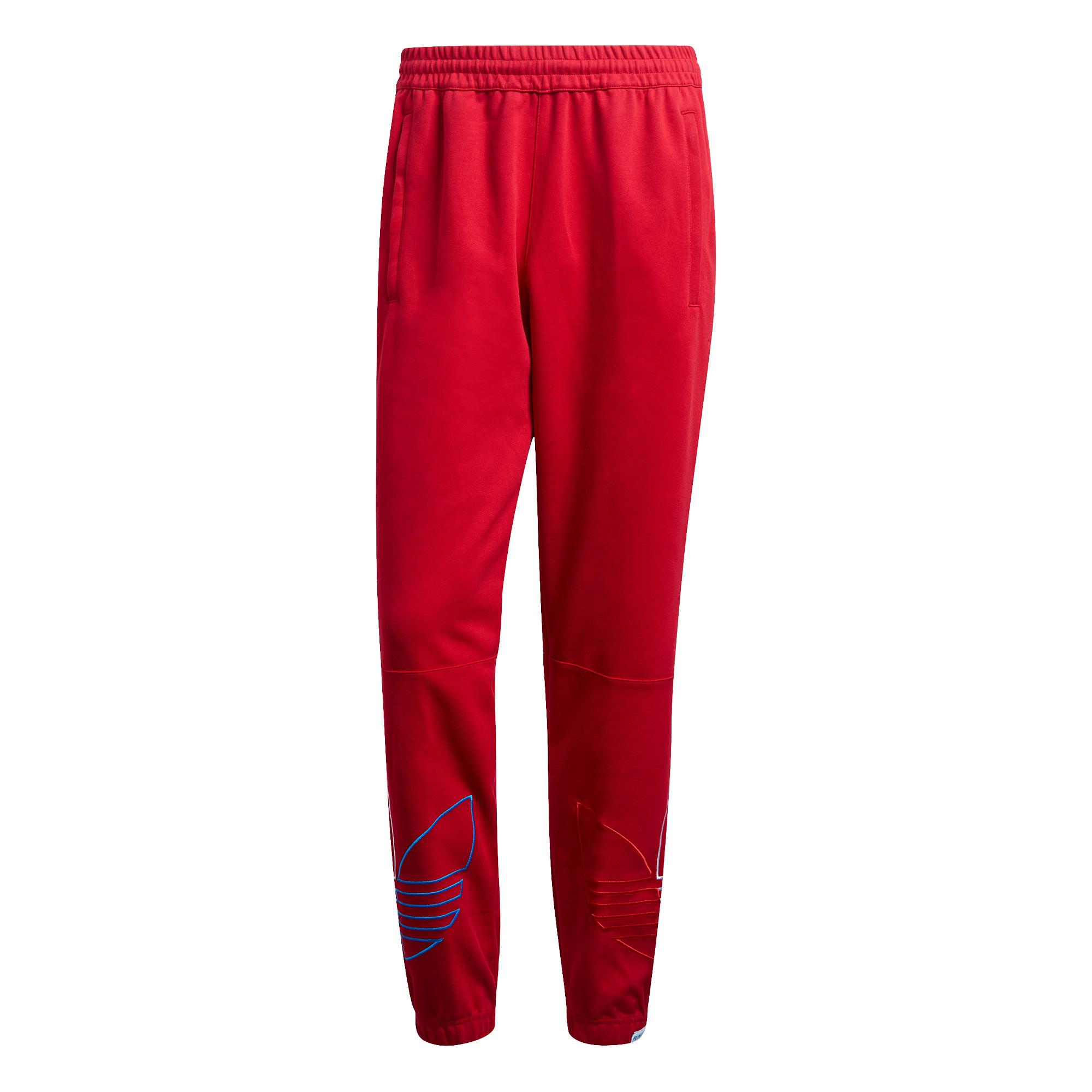 Pantaloni tuta adicolor, Rosso, large image number 0