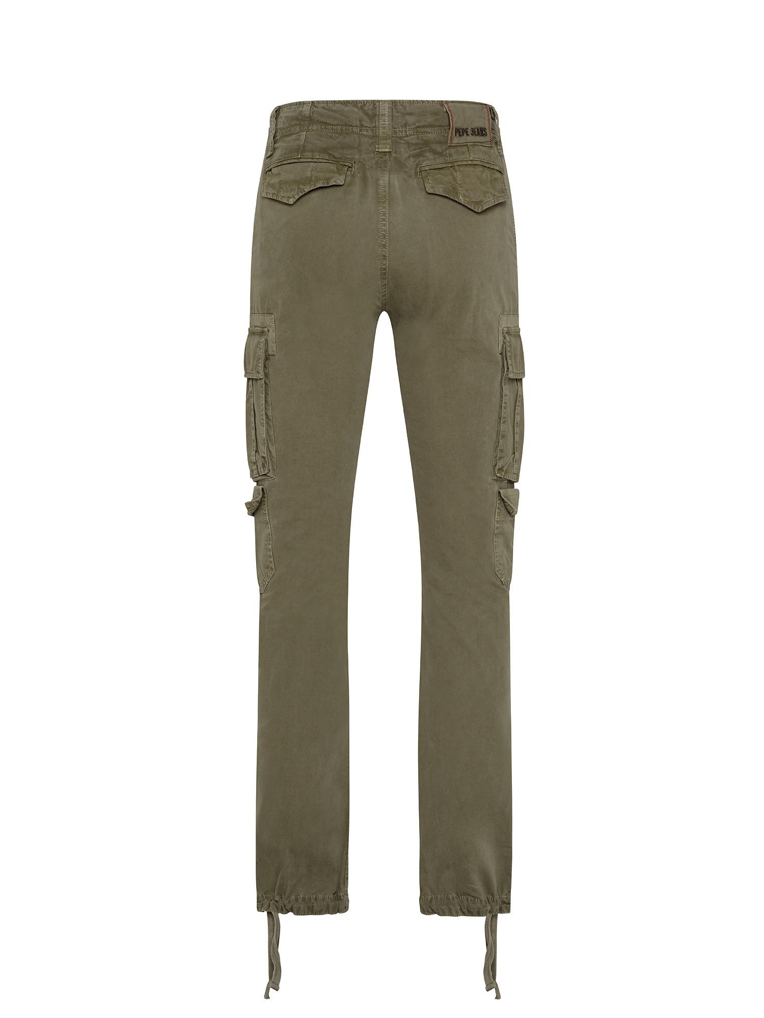 Pantalone 5 tasche, Verde, large image number 1