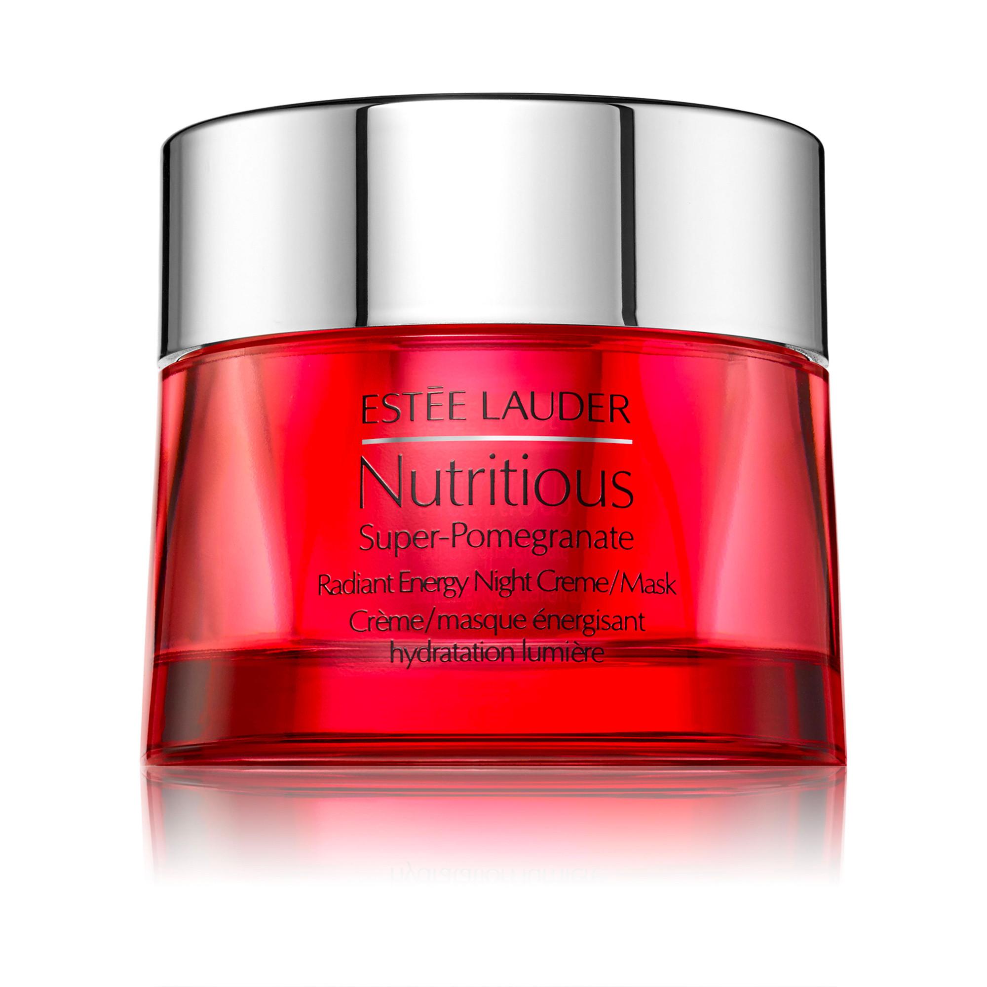 Estée Lauder nutritious super-pomegranate radiant energy night creme/mask 50 ml, Azzurro, large image number 0