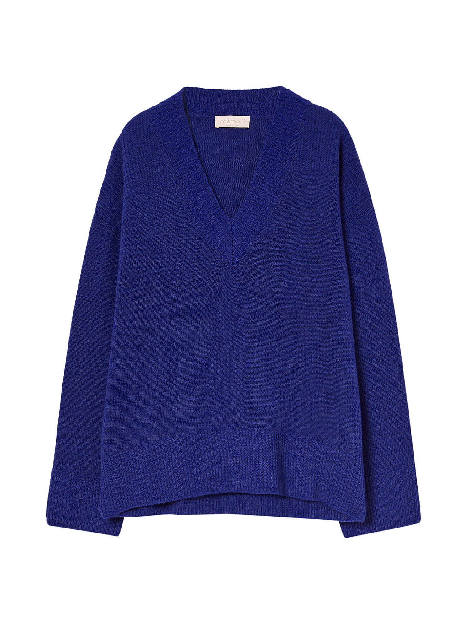 Maglia Voiron in filato di pura lana, Blu, large image number 0