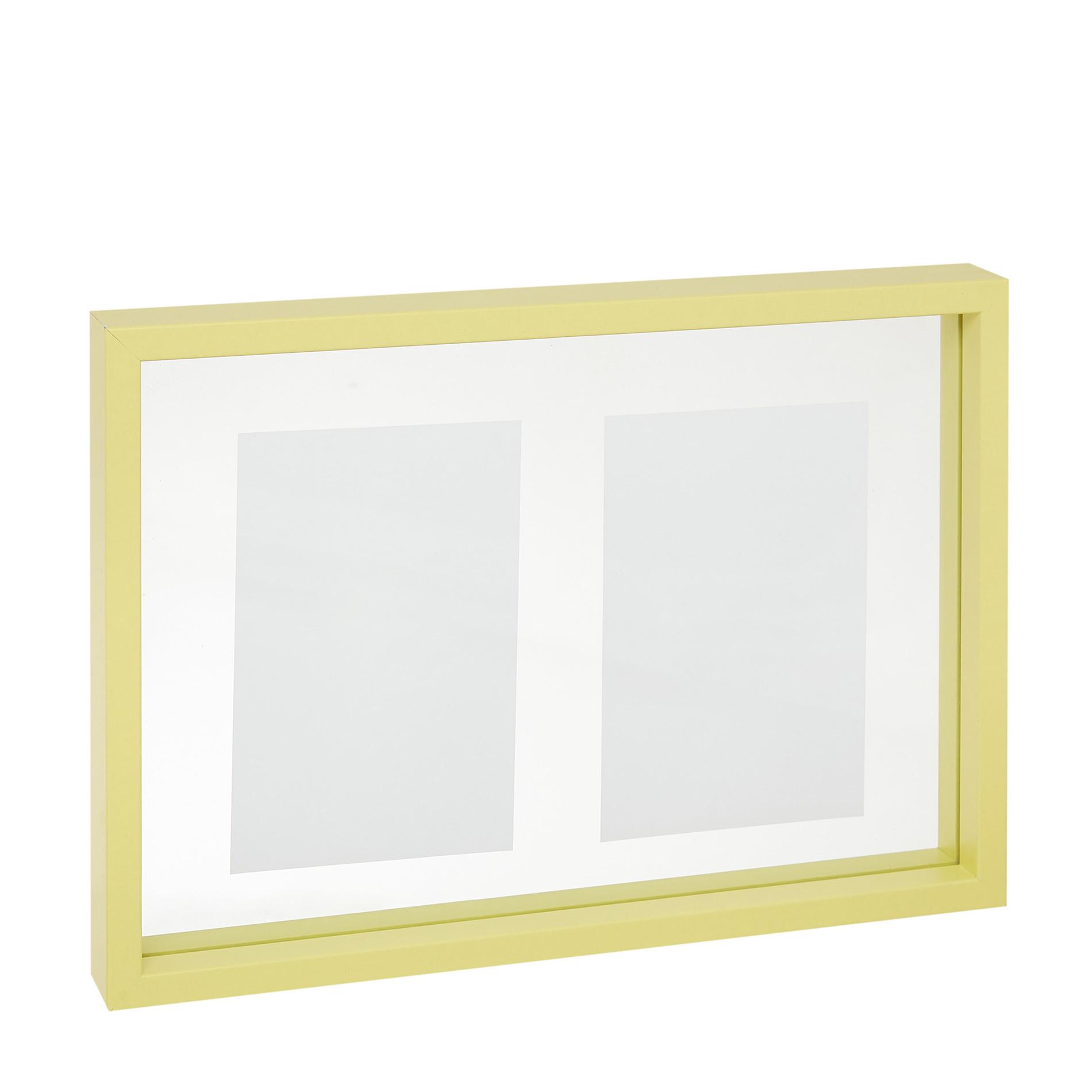 Portafoto cornice colorata, Giallo, large image number 0