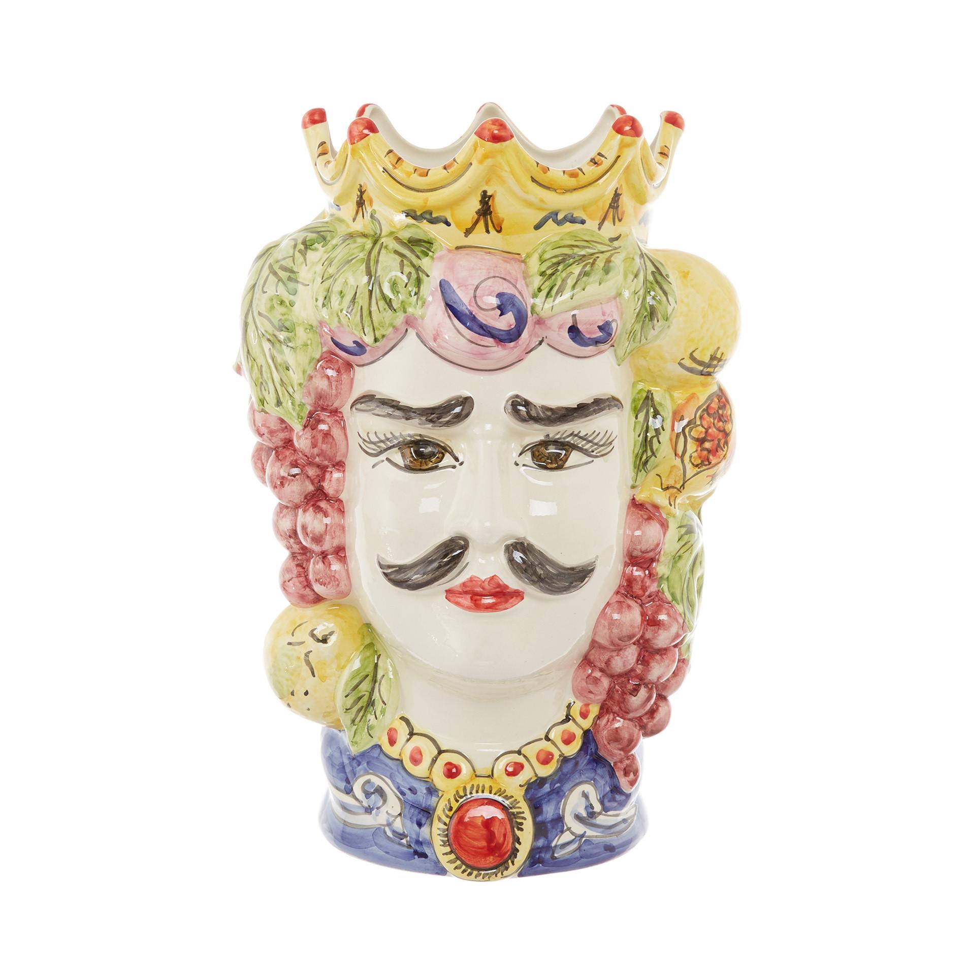 Testa di moro tradizionale by Ceramiche Siciliane Ruggeri, Multicolor, large image number 0