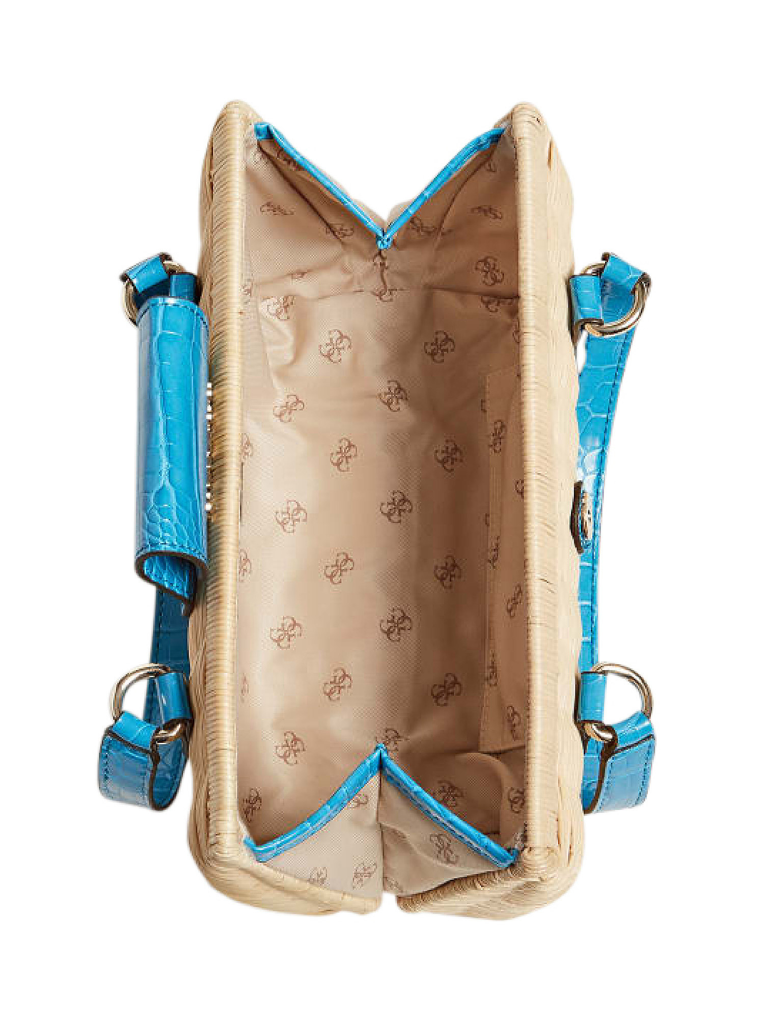 Paloma Satchel Bag, Blu, large image number 2