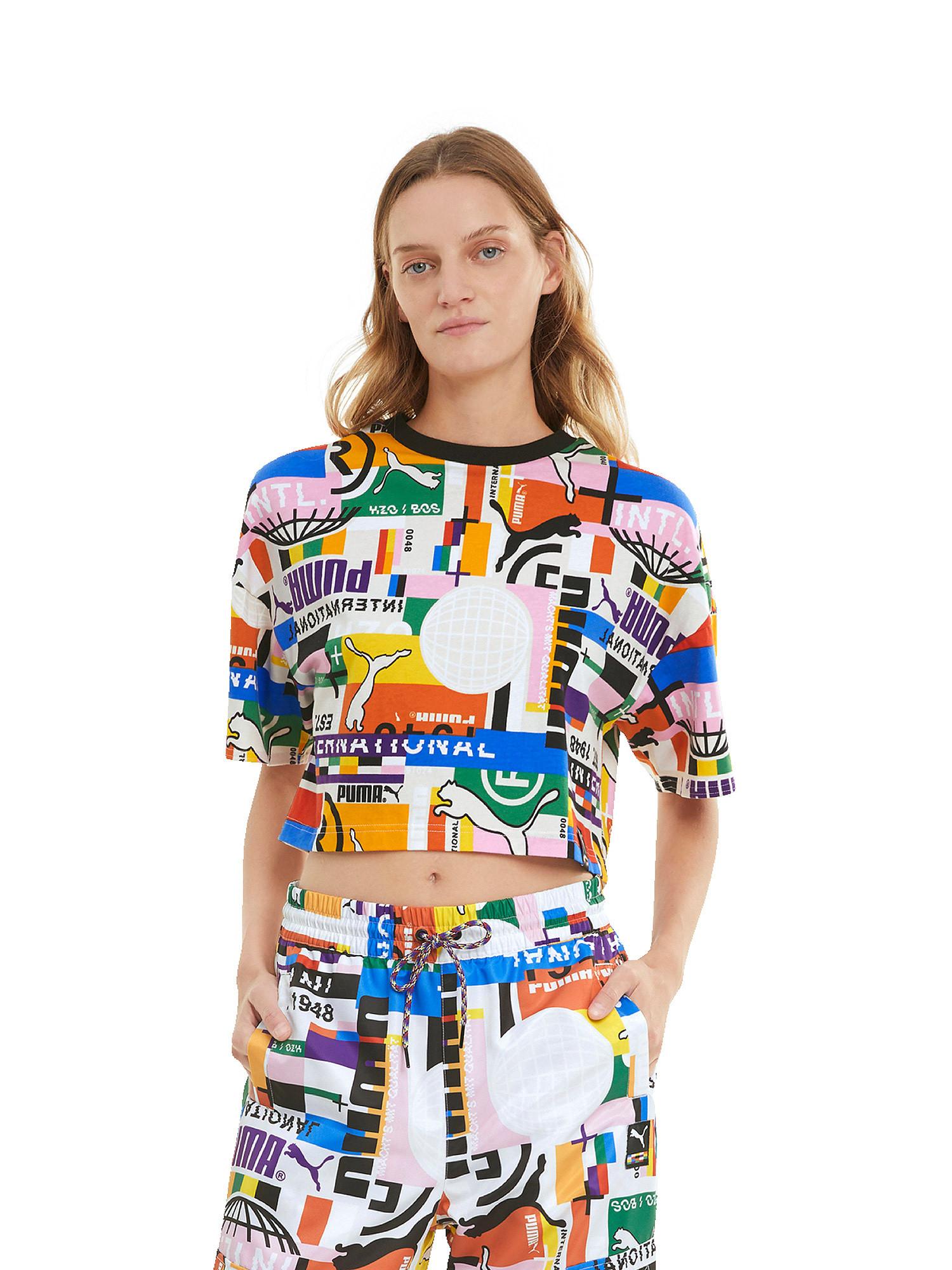 T-shirt donna, Bianco, large image number 2