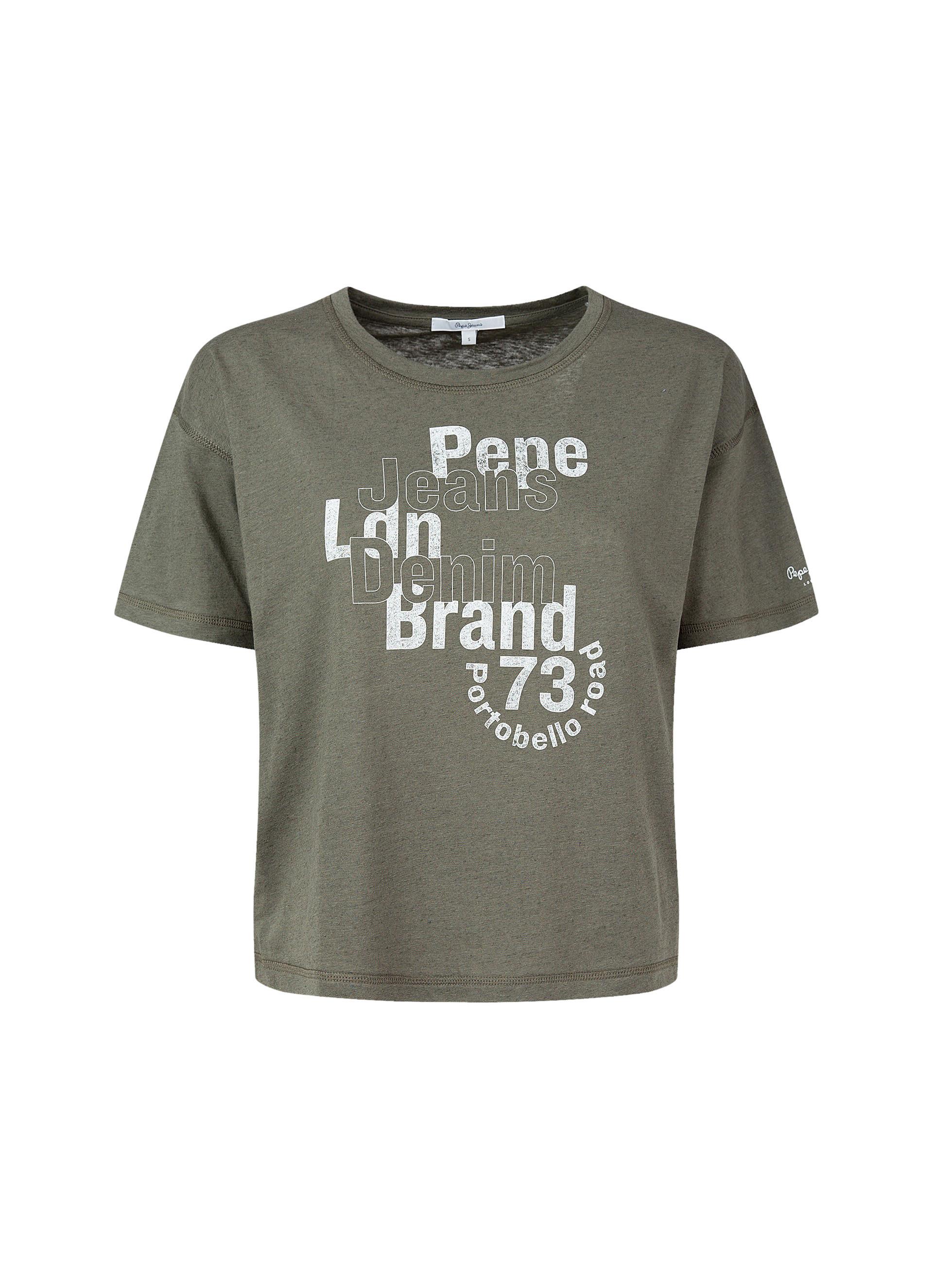 T-Shirt donna Amaya, Arancione, large image number 0