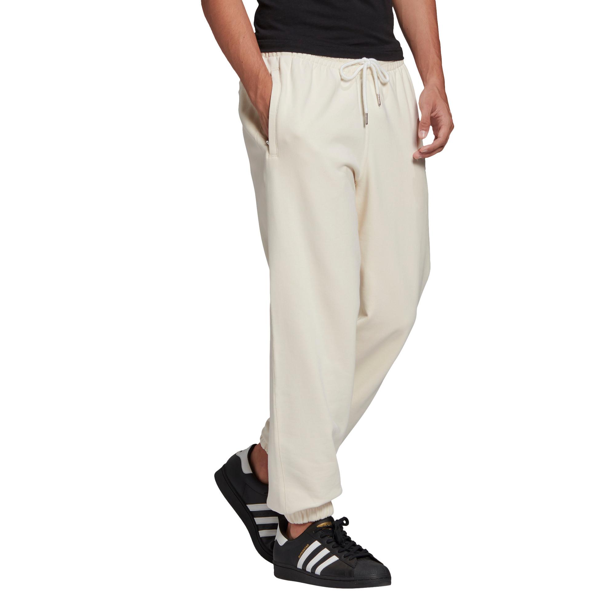Pantaloni tuta adicolor Premium, Bianco panna, large image number 1