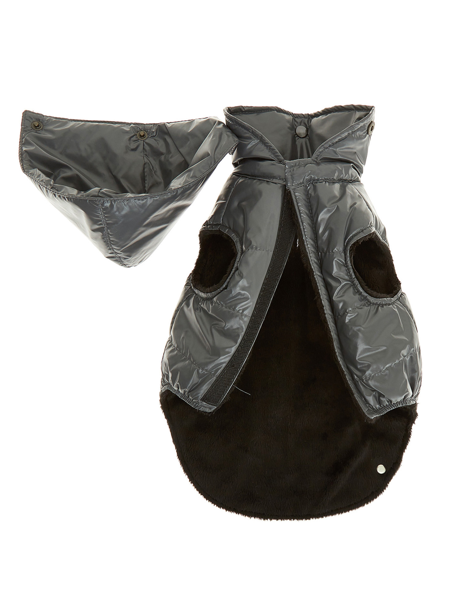 Cappottino tessuto impermeabile antivento Vermont, Grigio scuro, large image number 2