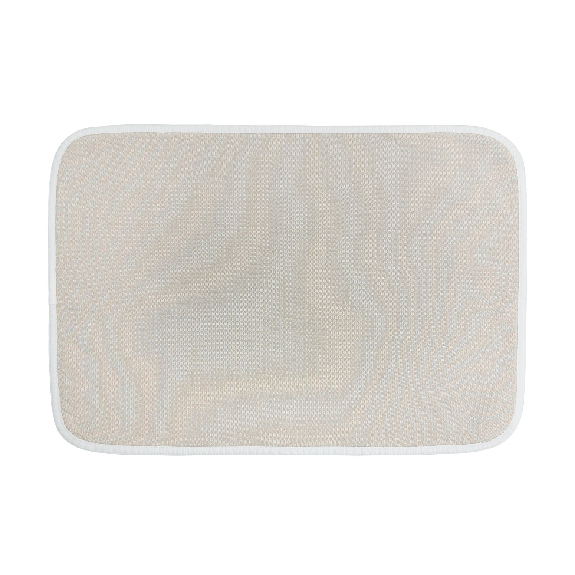 Asciugamano puro cotone double face Thermae, Beige, large image number 2