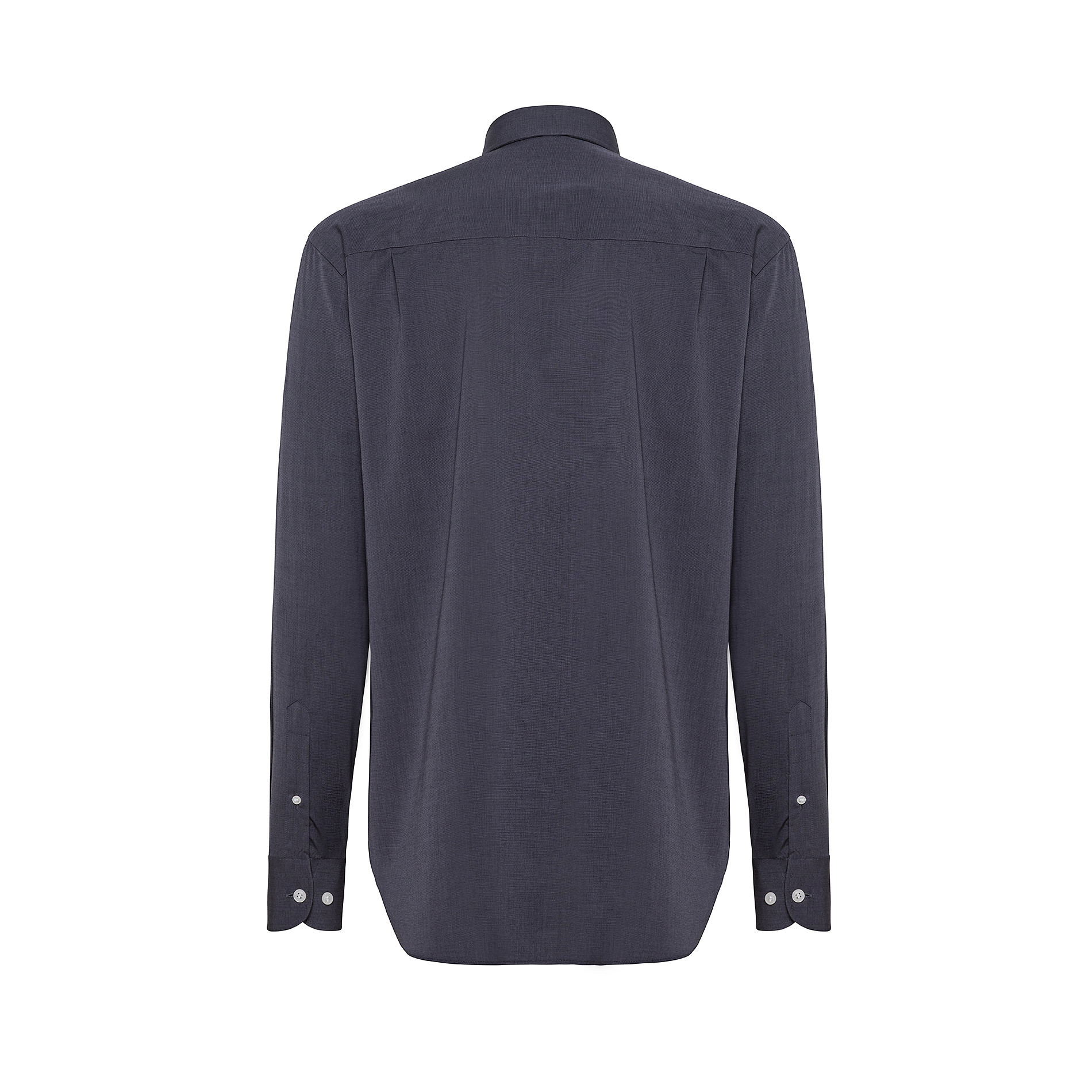 Camicia button-down regular fit in cotone, Nero, large image number 1