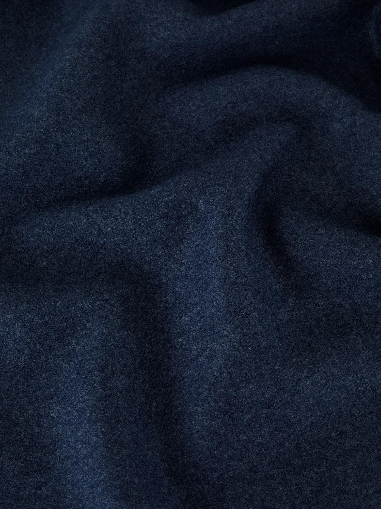 Coperta morbido pile tinta unita, Blu, large image number 1
