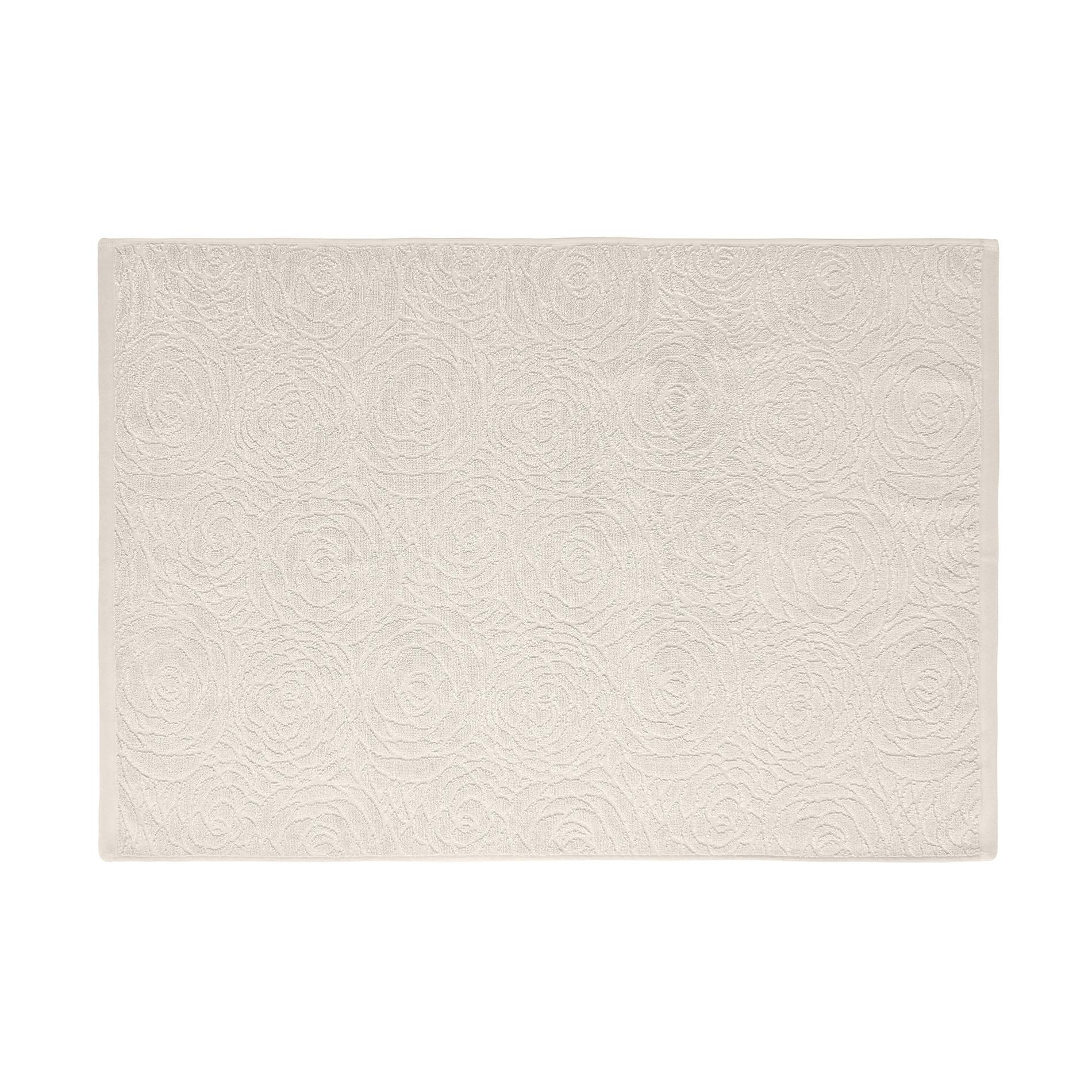 Asciugamano spugna puro cotone rose inglesi Portofino, Beige, large image number 2