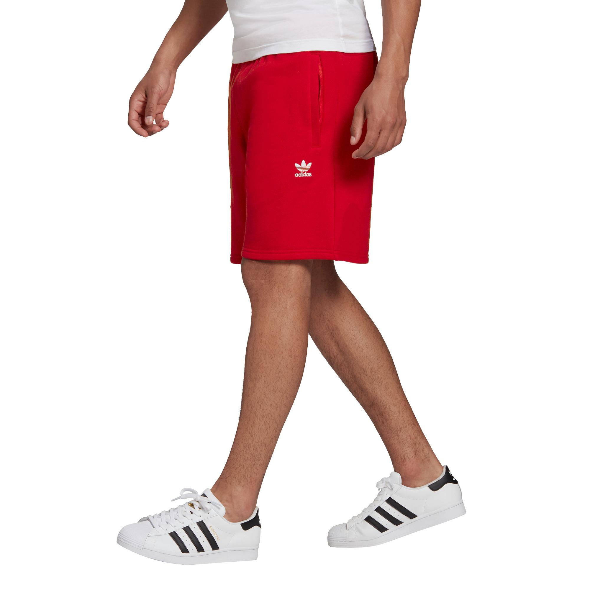 Short loungewear trefoil Essentials, Rosso, large image number 6