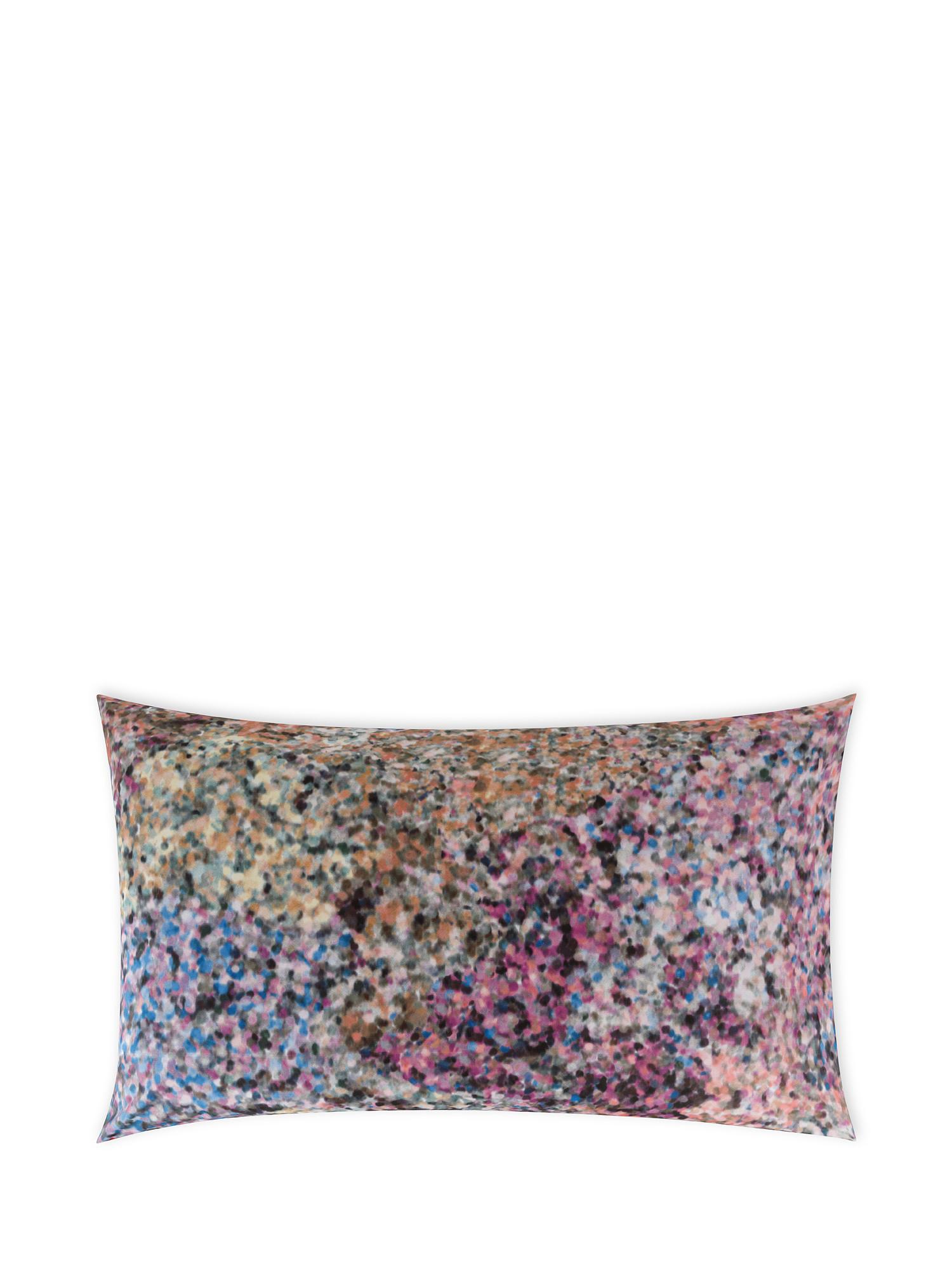 Federa cotone percalle fantasia a puntini, Multicolor, large image number 0