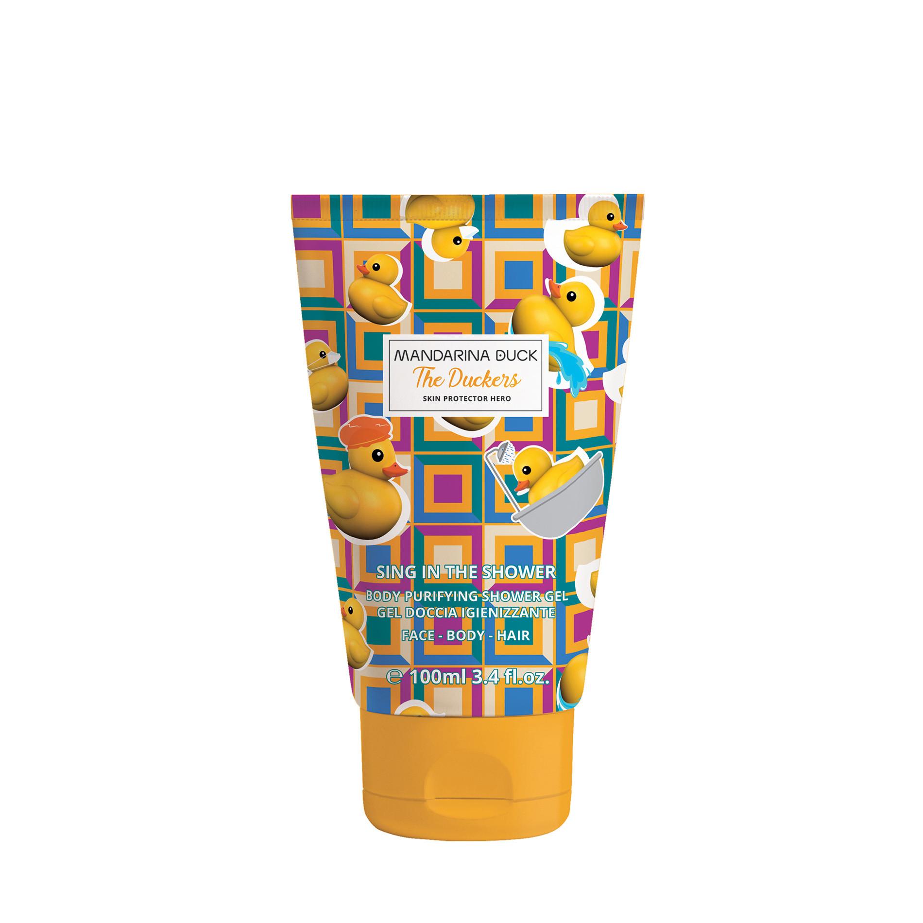Shower gel igienizzante e detergente Mandarina Duck 100ml, Multicolor, large image number 0