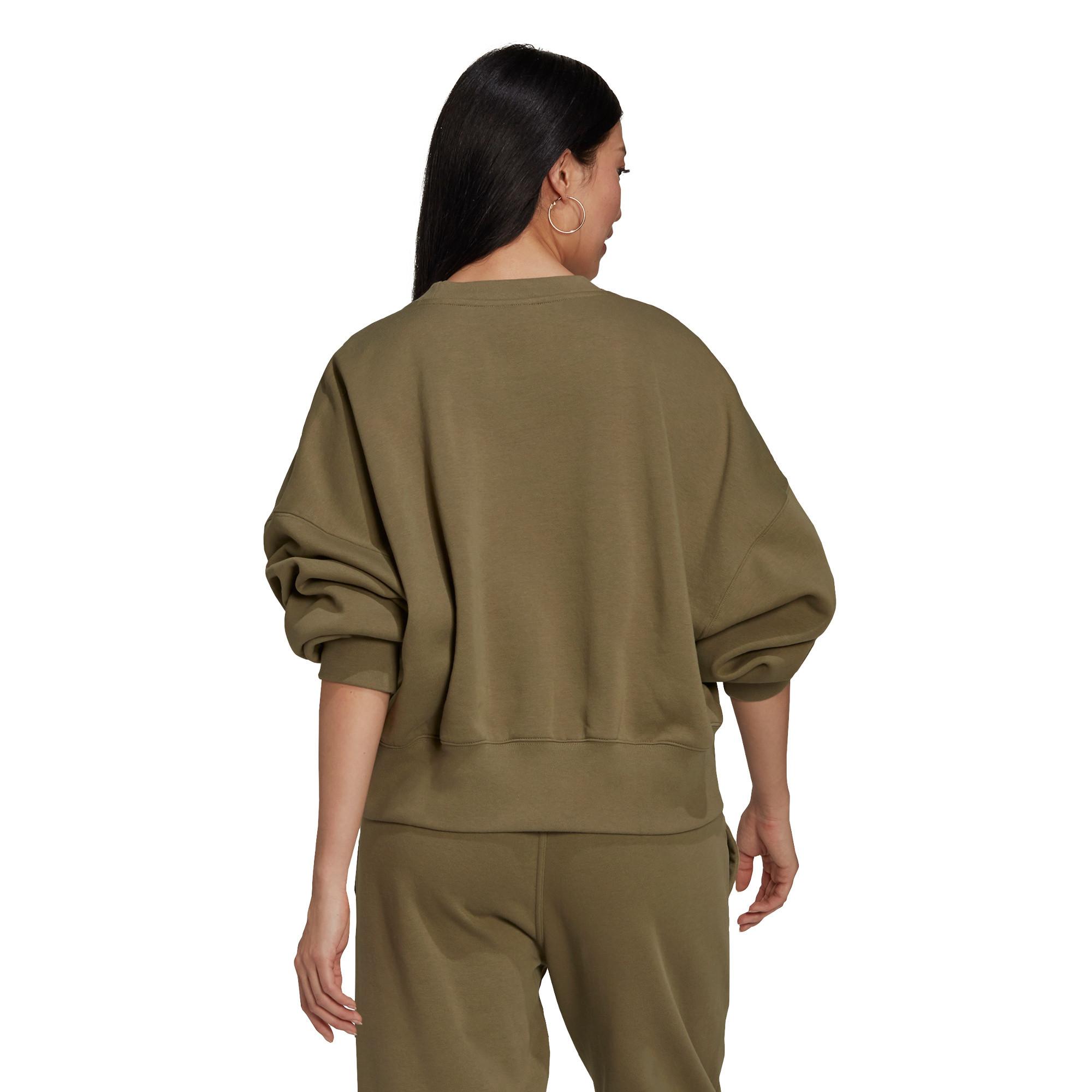 Felpa adicolor Essentials Fleece, Verde, large image number 2
