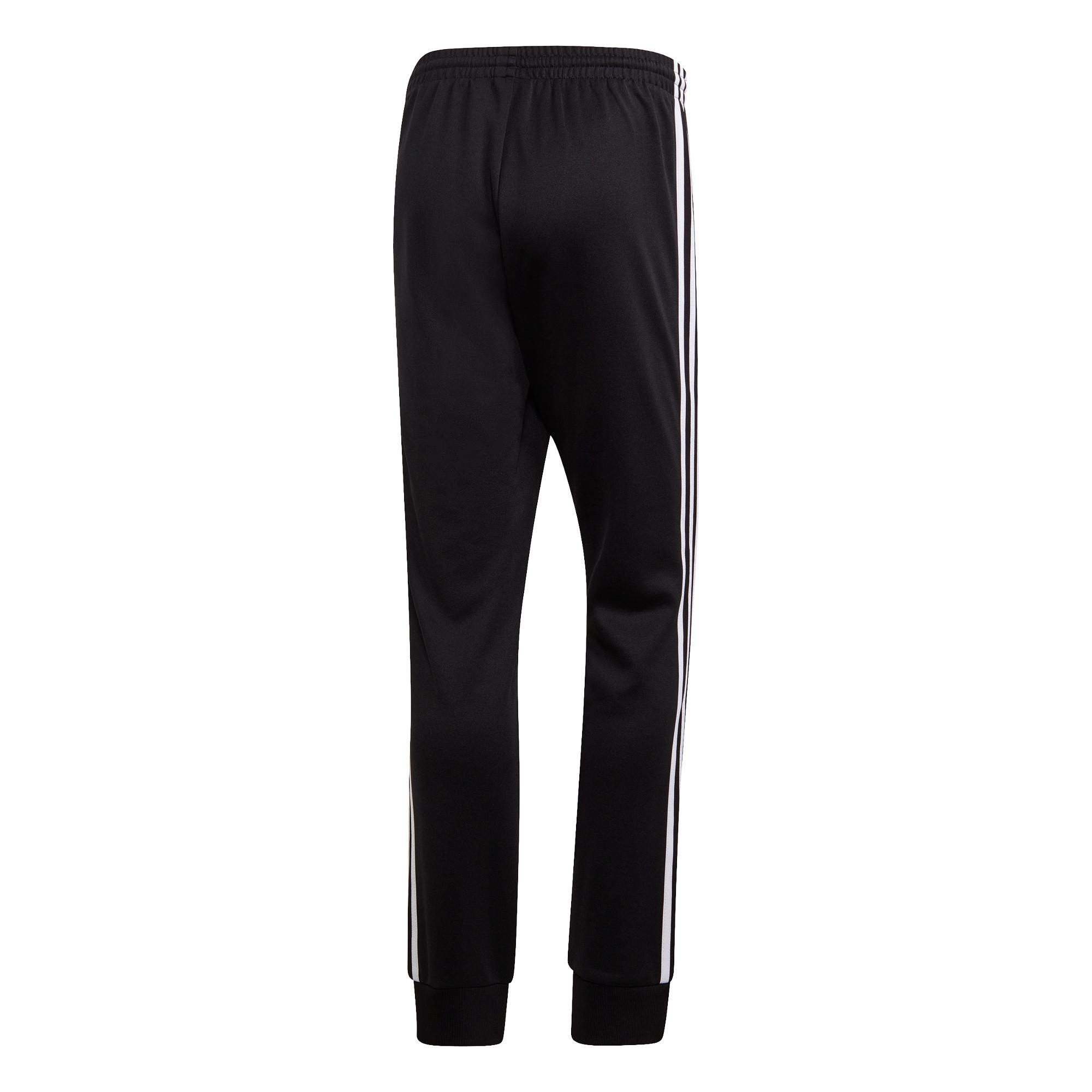 Pantaloni tuta adicolor Classics Primeblue SST, Bianco/Nero, large image number 1