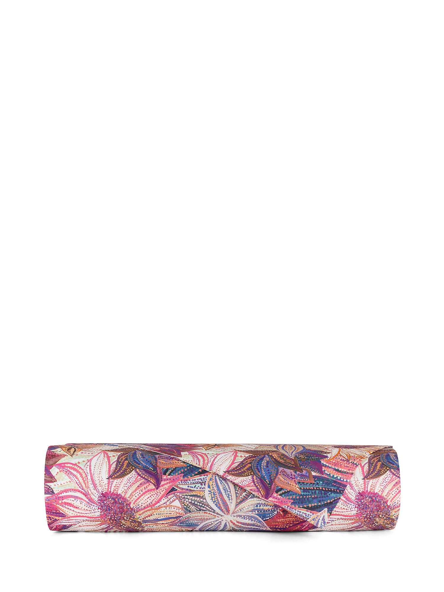 Copripiumino cotone percalle fantasia floreale, Multicolor, large image number 1