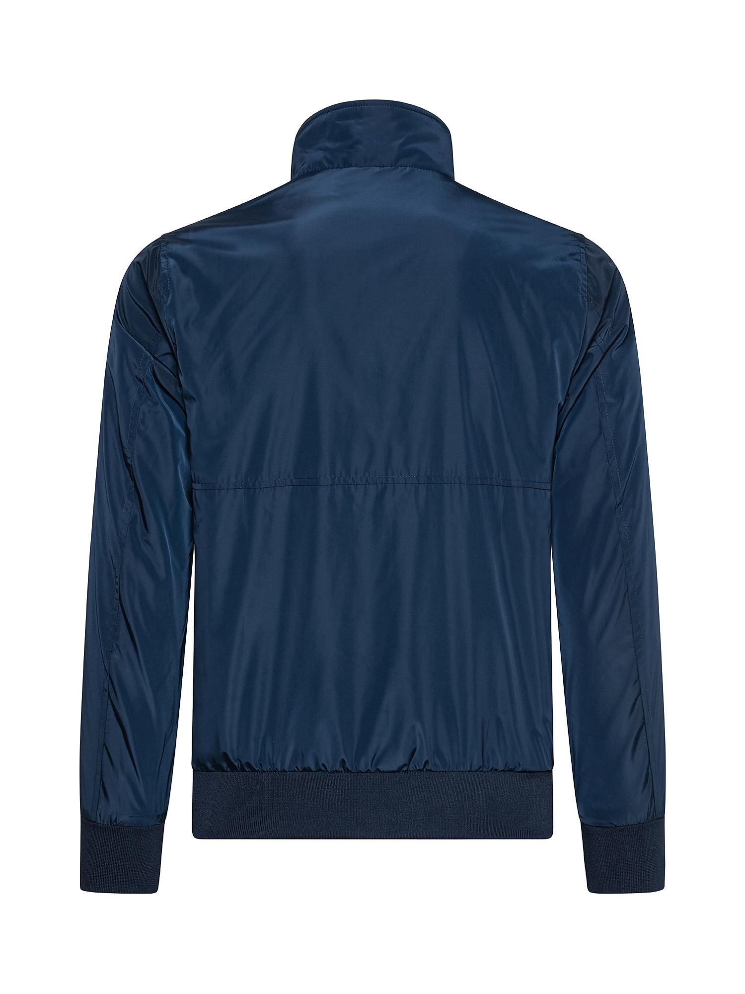 Giacca da uomo antivento regular fit, Blu, large image number 1