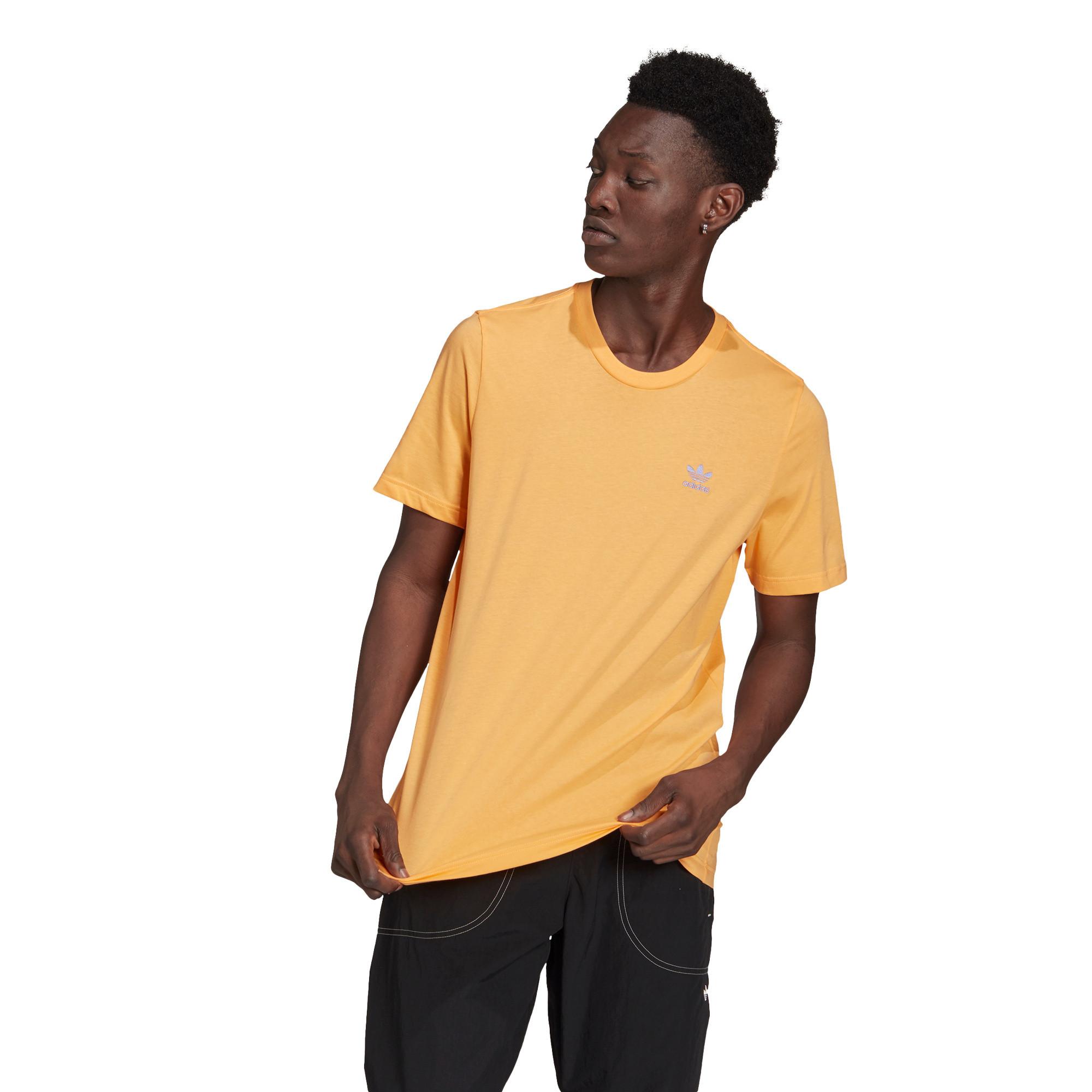 T-shirt loungewear adicolor trefoil essentials, Arancione, large image number 1