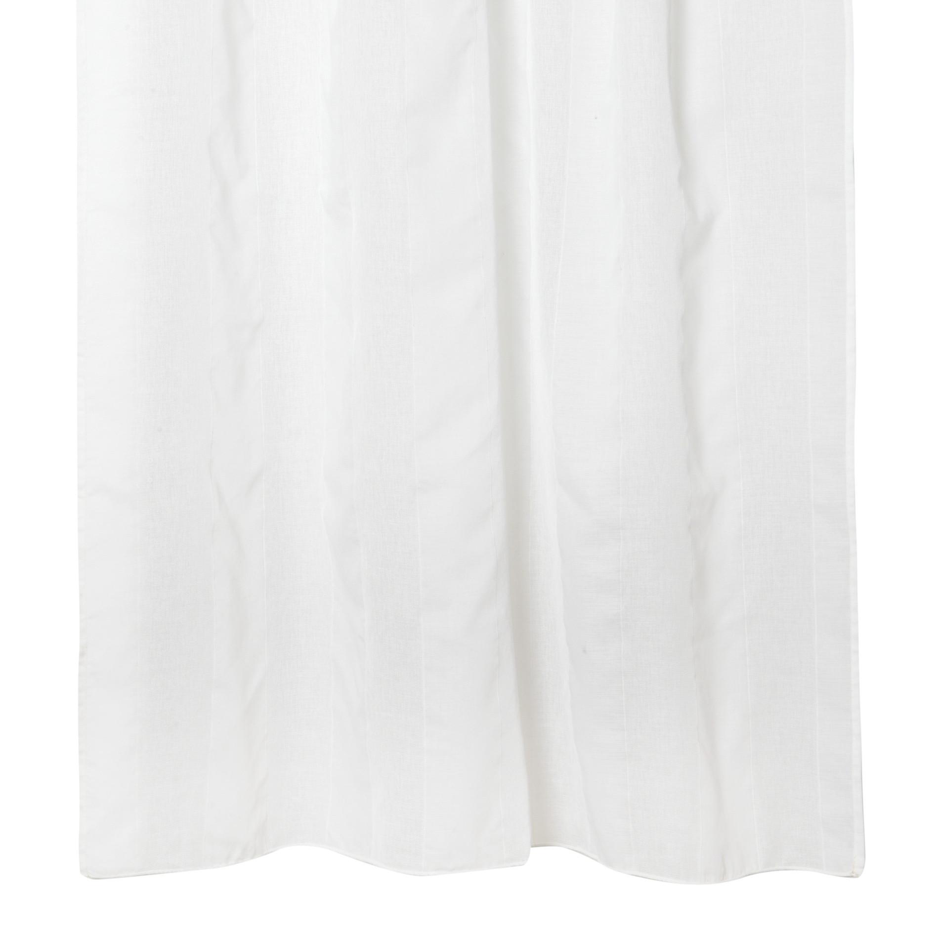 Tenda strisce verticali, Bianco, large image number 0
