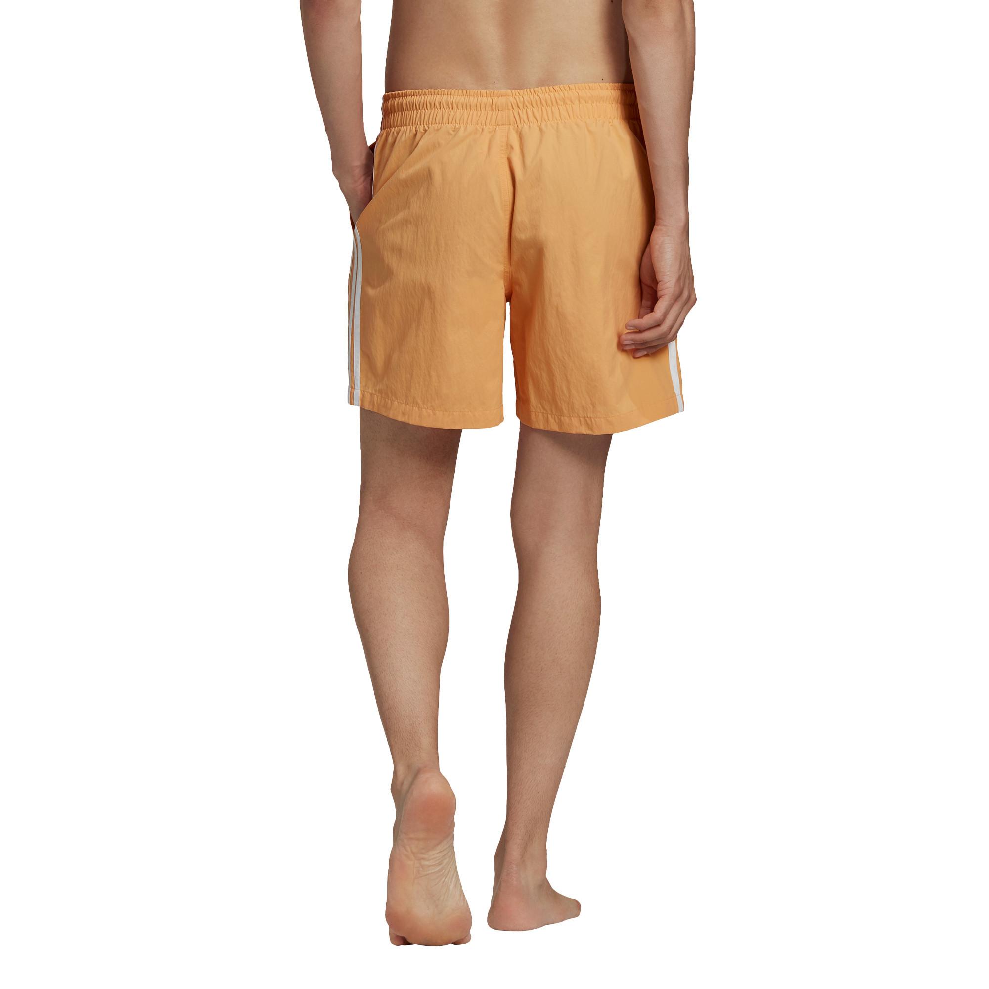 Short da nuoto adicolor classics 3-stripes, Arancione, large image number 3
