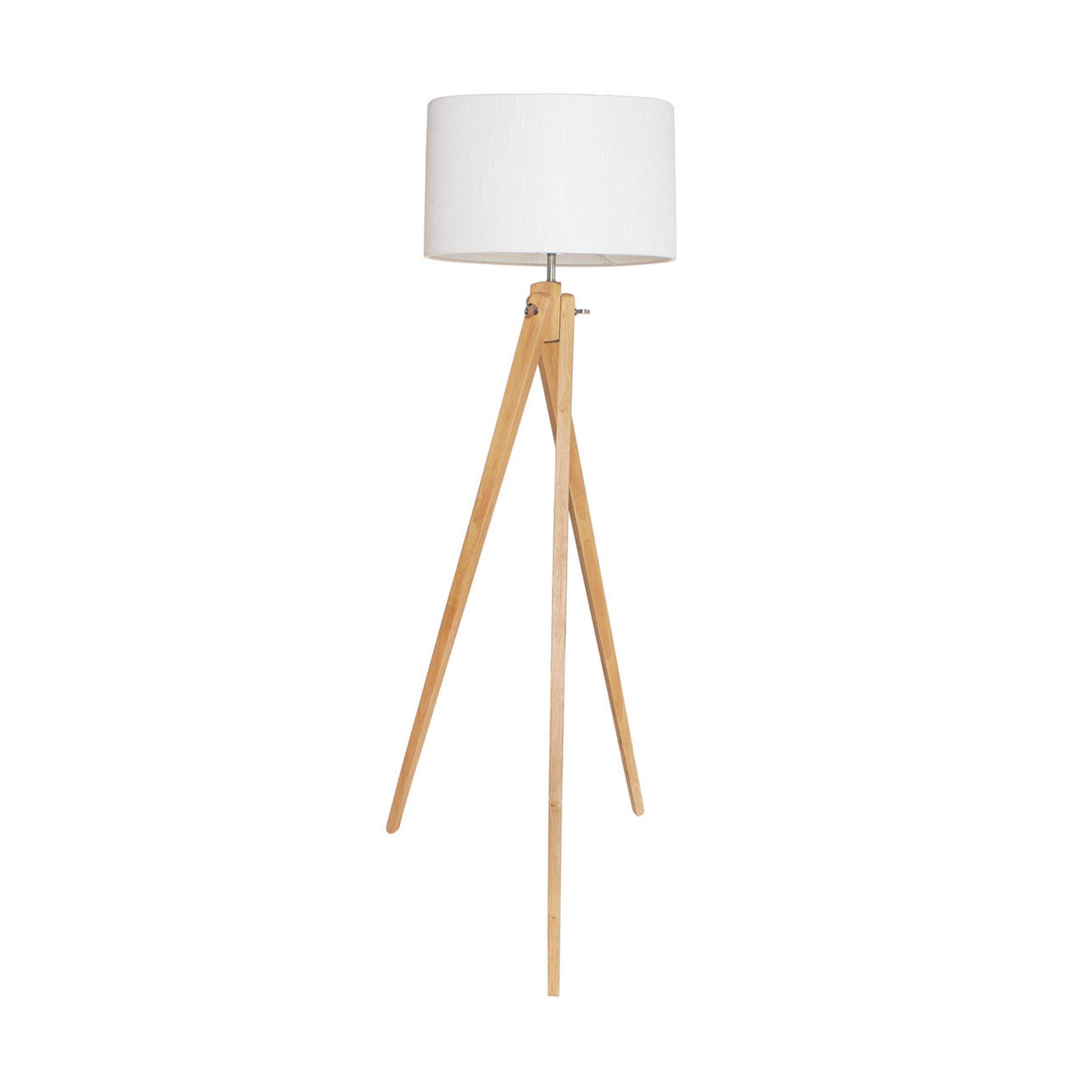 Spider Lampada da terra, Bianco/Marrone, large image number 0