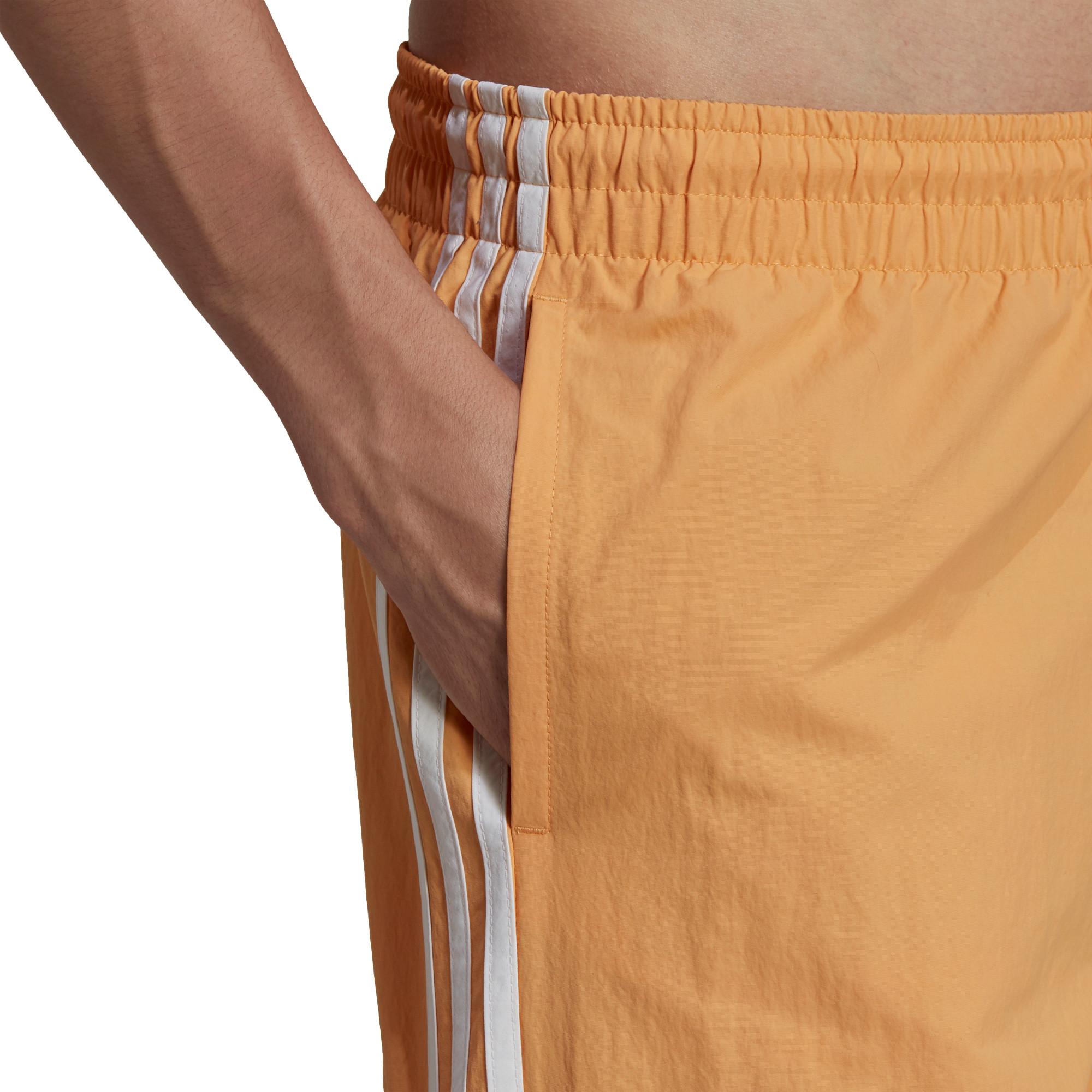 Short da nuoto adicolor classics 3-stripes, Arancione, large image number 4