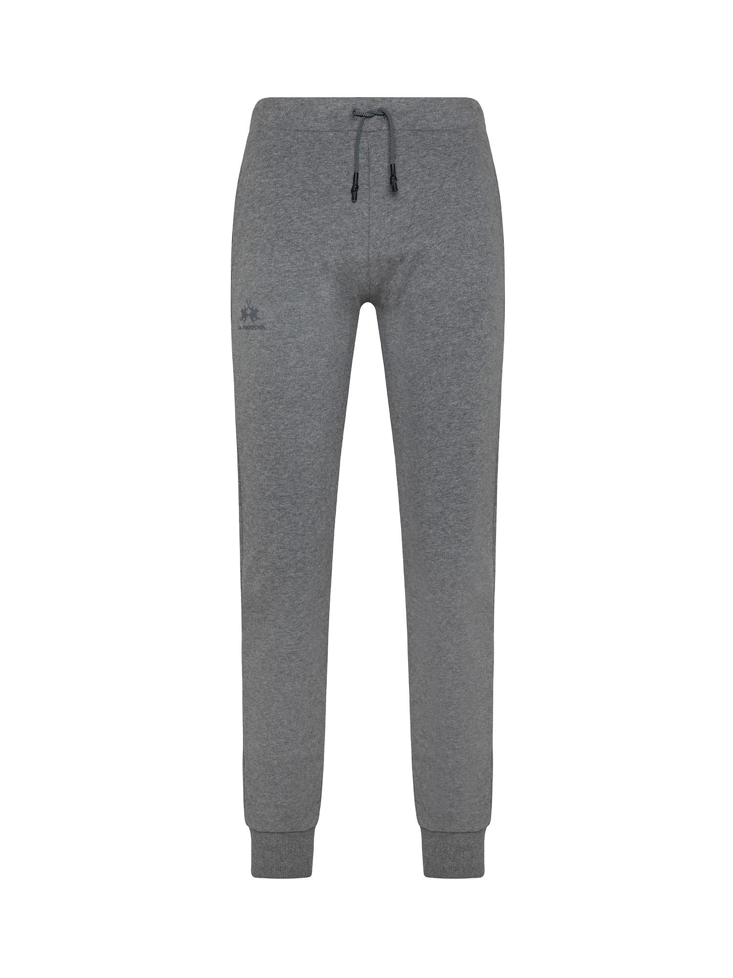 Pantalone da uomo regular fit, Grigio, large image number 0