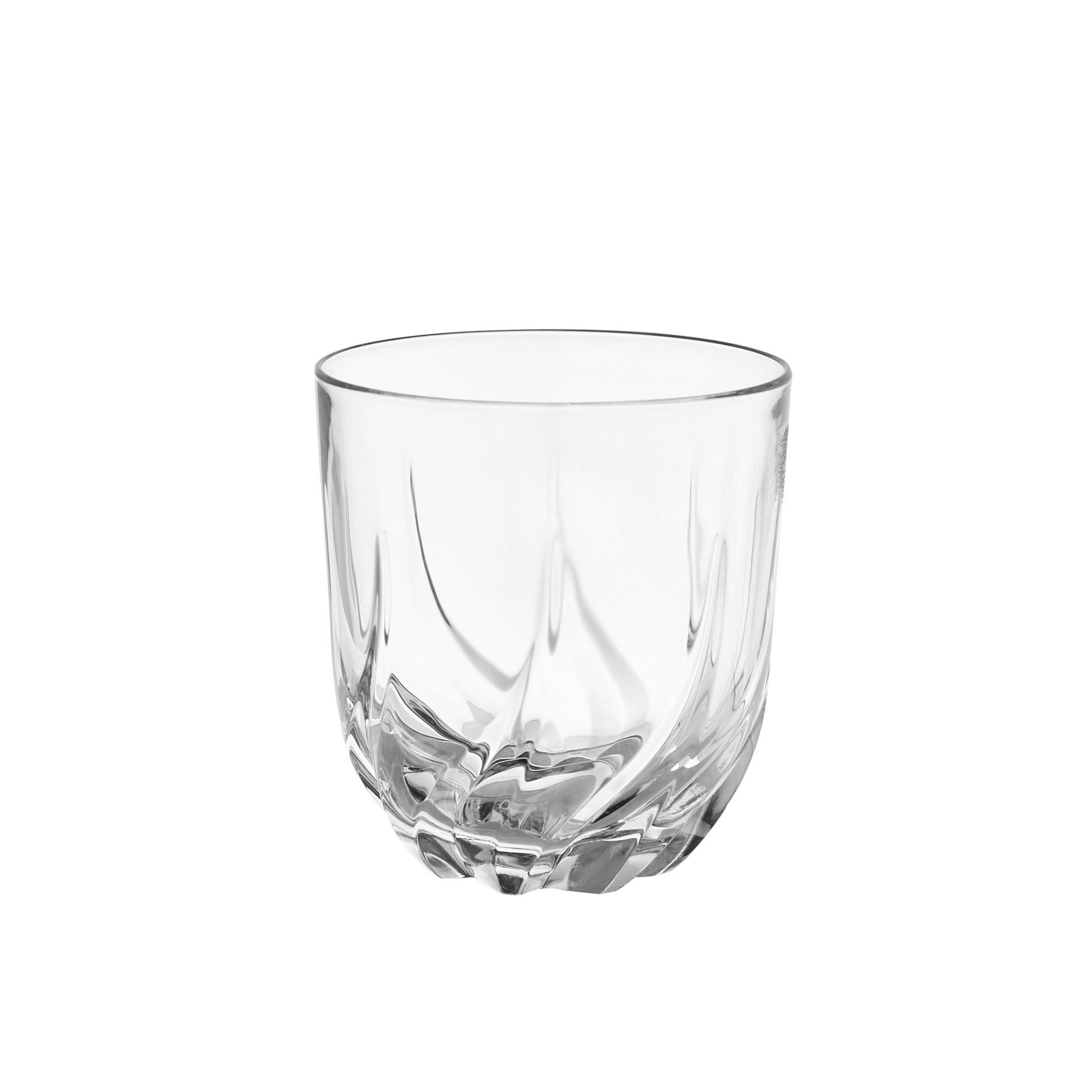 Set 6 bicchieri vetro Trix, Trasparente, large image number 1