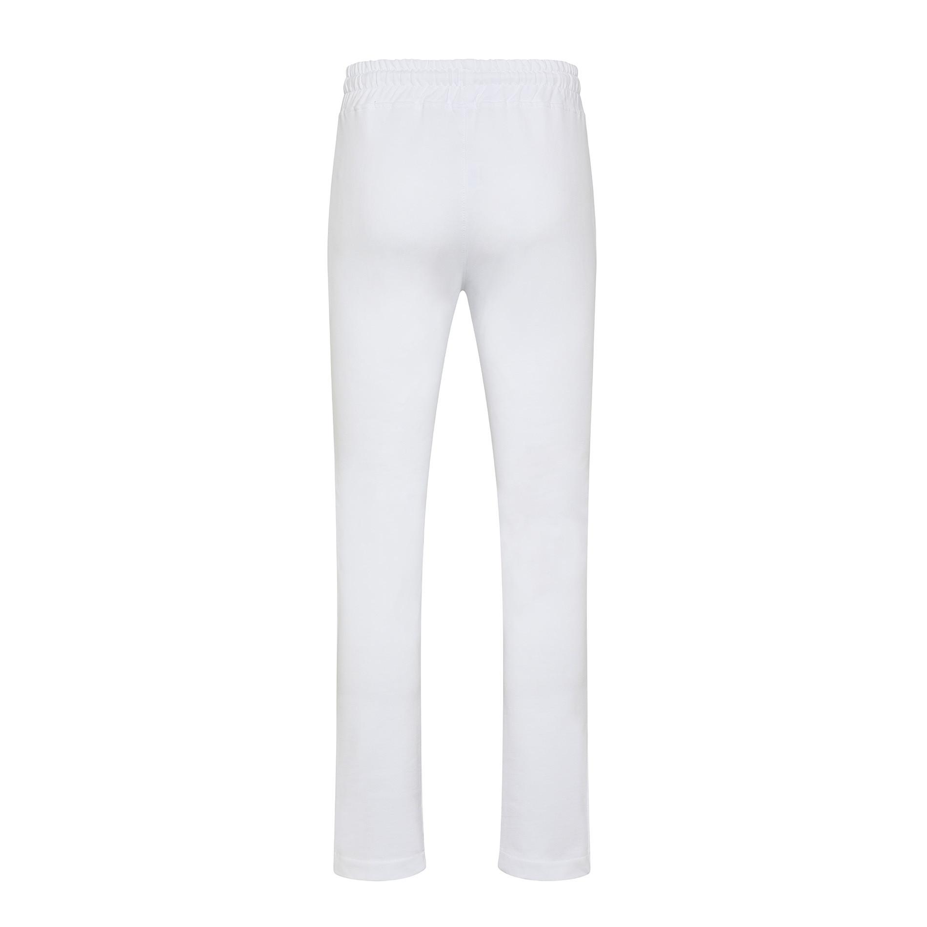 Pantalone felpa di cotone JCT, Bianco, large image number 1