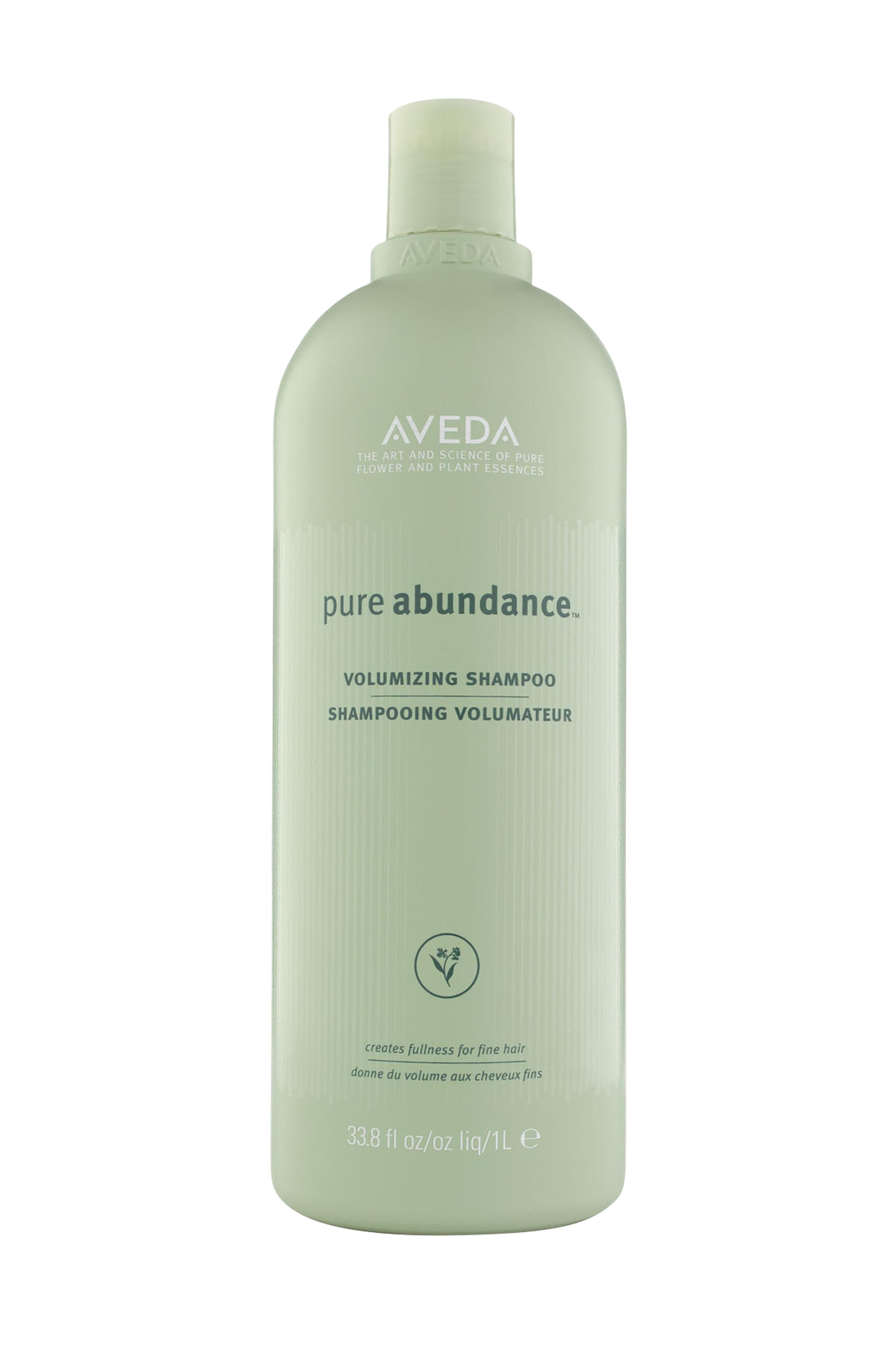 Aveda pure abundance shampoo volumizzante 1000 ml, Verde, large image number 0