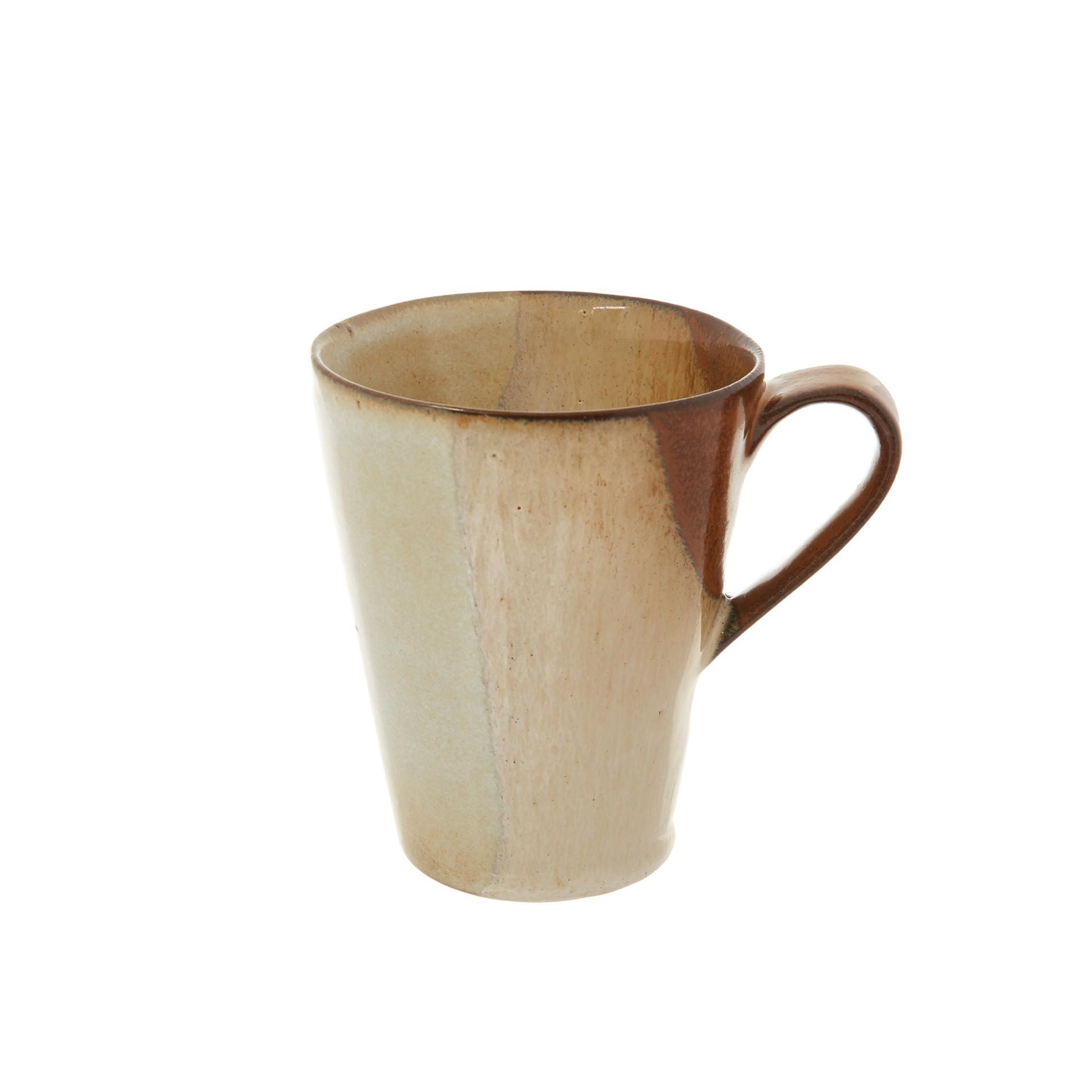 Mug stoneware Terra, Marrone, large image number 0