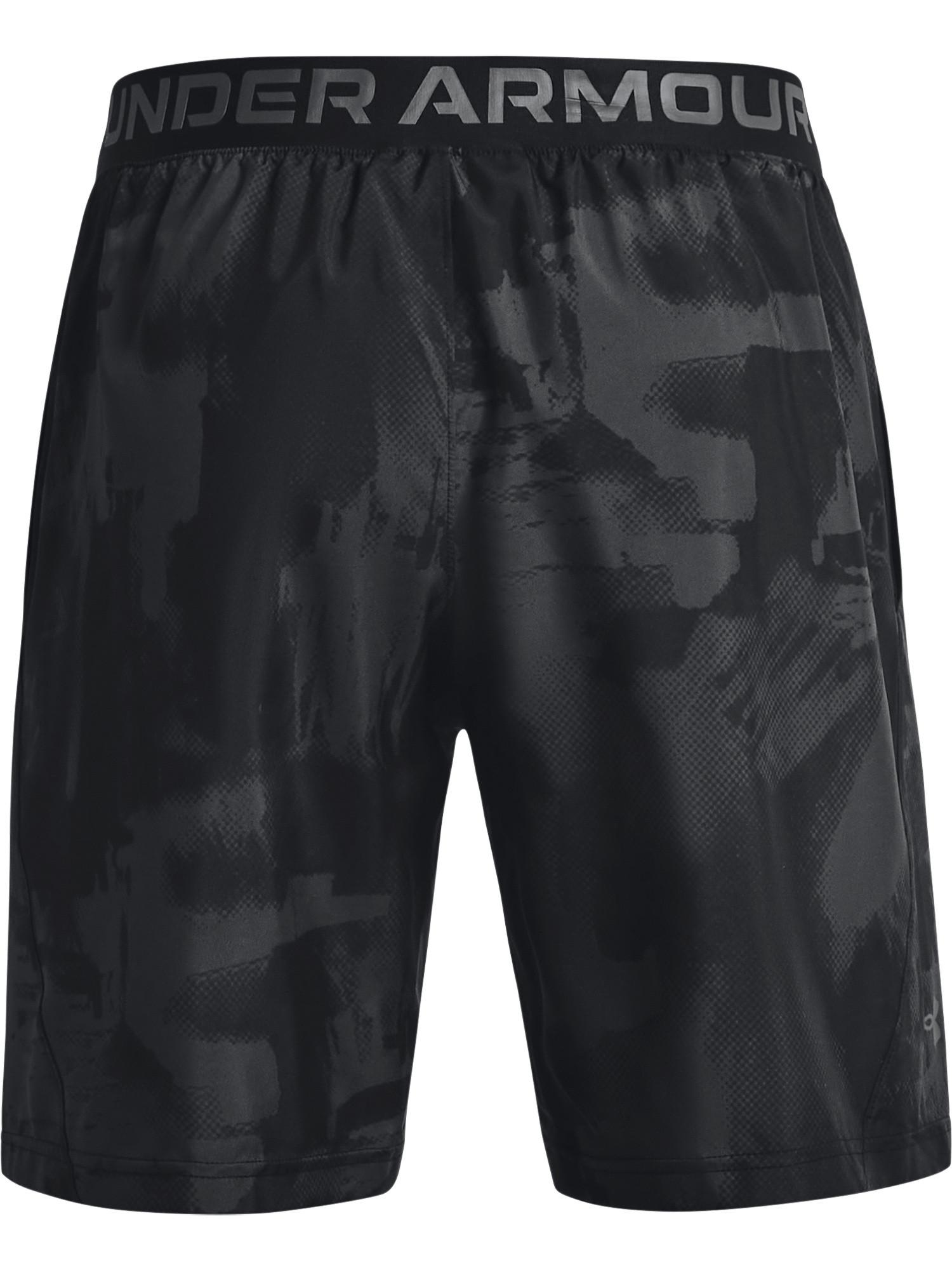 Shorts UA Woven Adapt da uomo, Nero, large image number 1