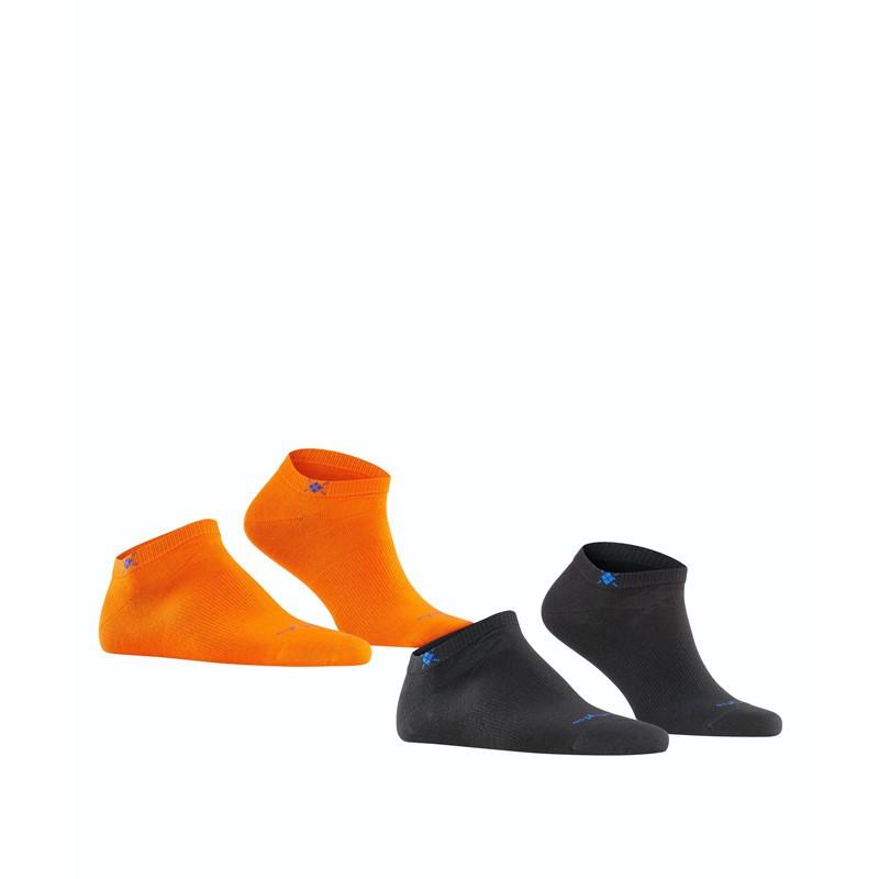 Fantasmini uomo everyday 2-Pack, Arancione, large image number 2