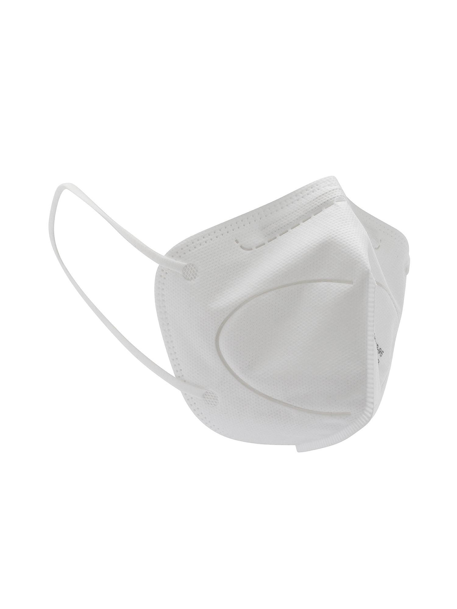 Mascherina FFP2 filtrante, Bianco, large image number 0