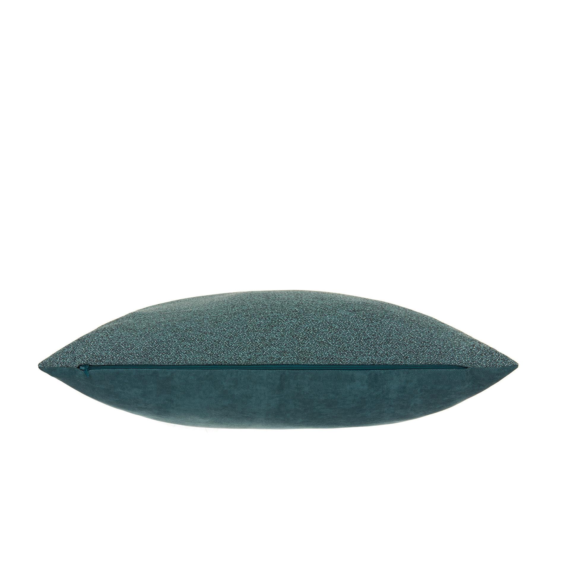 Cuscino sfumature melange 50x50cm, Verde scuro, large image number 2
