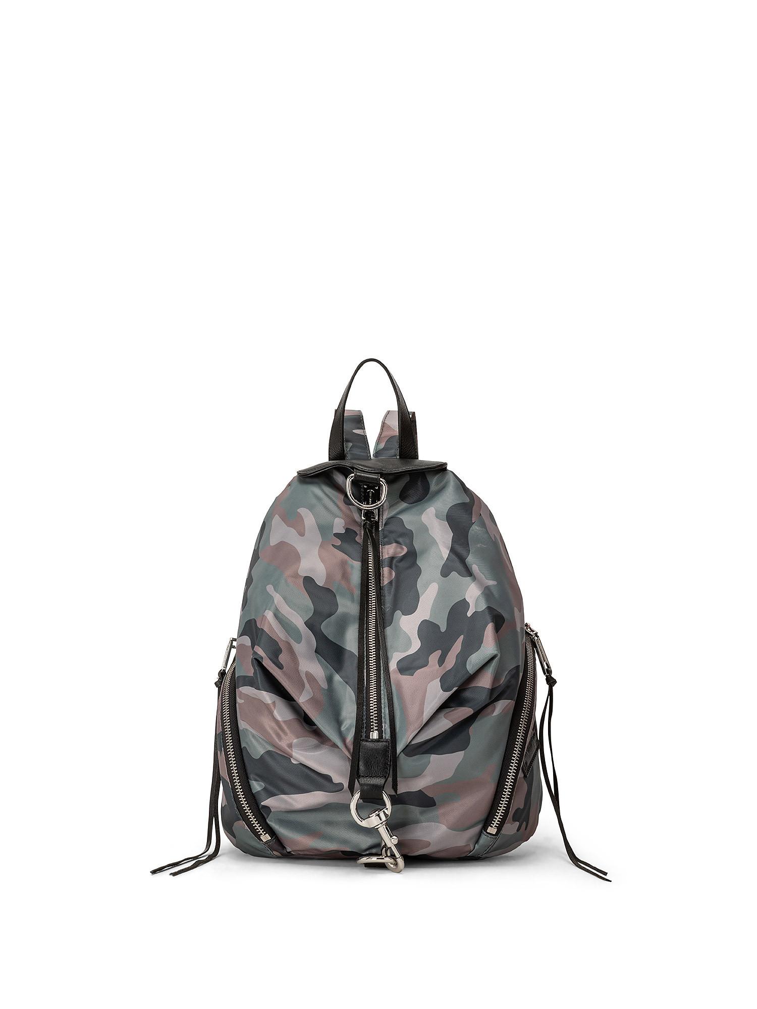 Julian Nylon Backpack, Verde, large image number 0