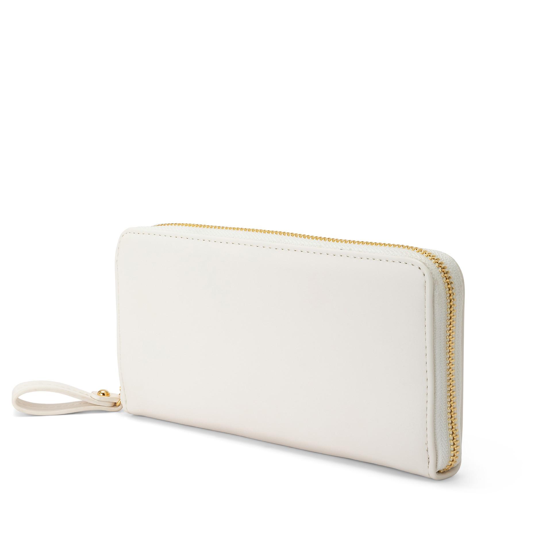 Portafoglio pelle sintetica Koan, Bianco, large image number 1