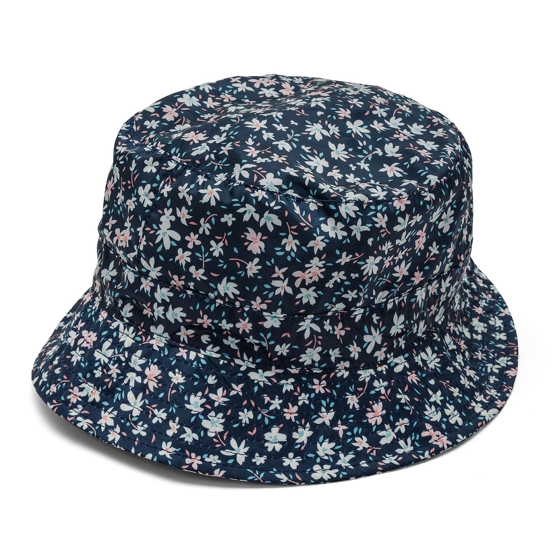 Cappello antipioggia con stampa Koan, Blu scuro, large image number 0